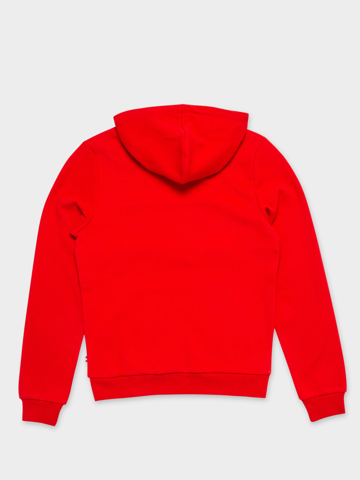 Dinan Hooded Sweater in Rouge Red