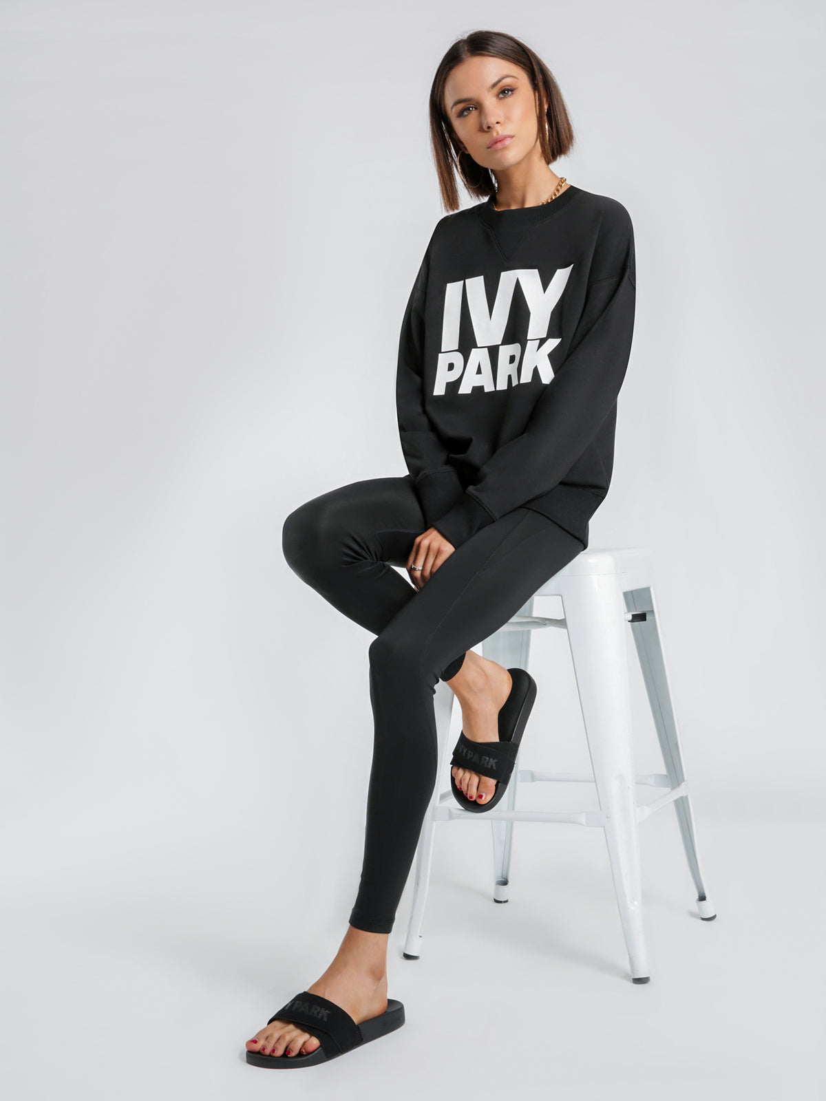 Logo Sweatshirt in Black