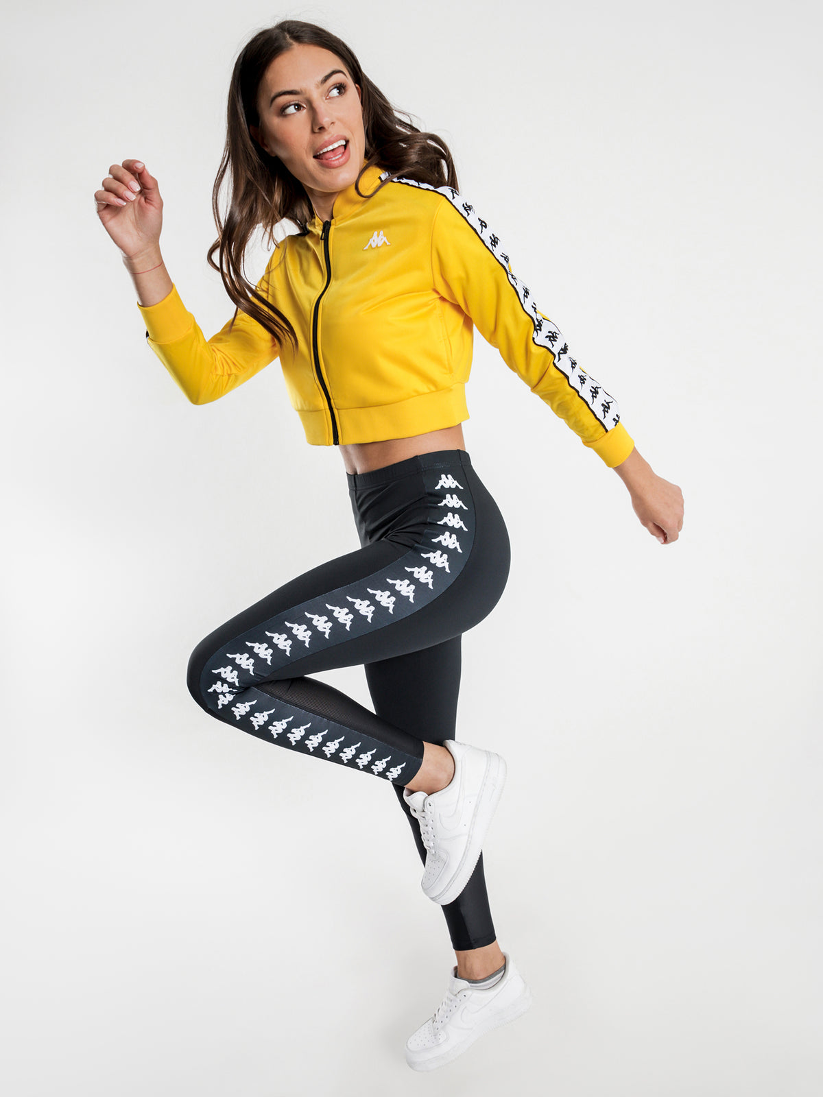 222 Banda Asber Jacket in Yellow & Black