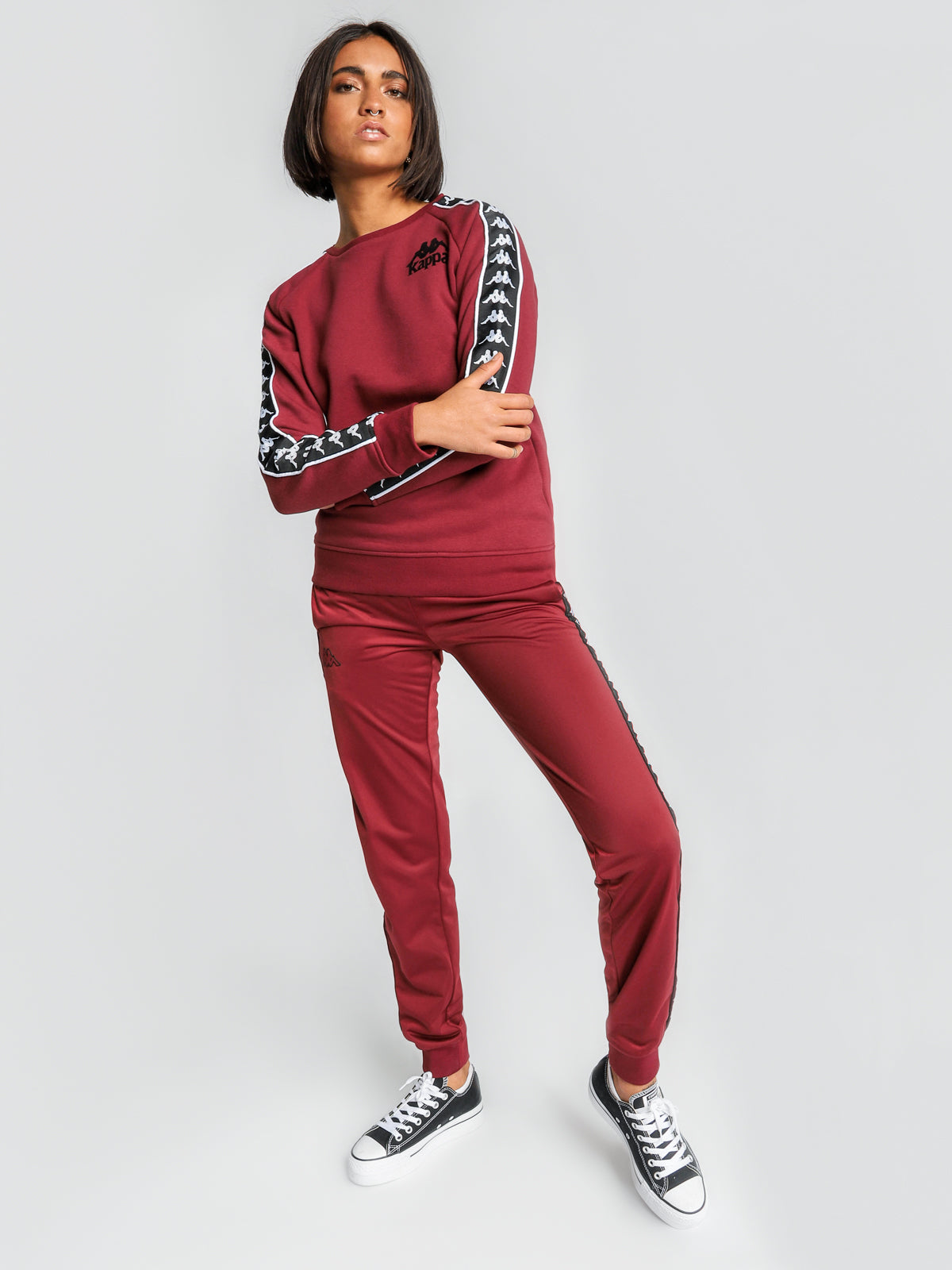 Authentic Hassan Jumper in Red Granat