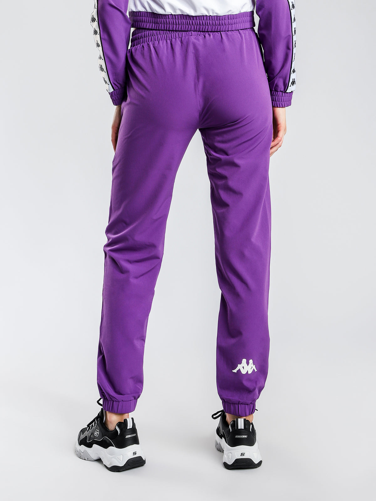 222 Banda Bawon Trackpants in Purple & White