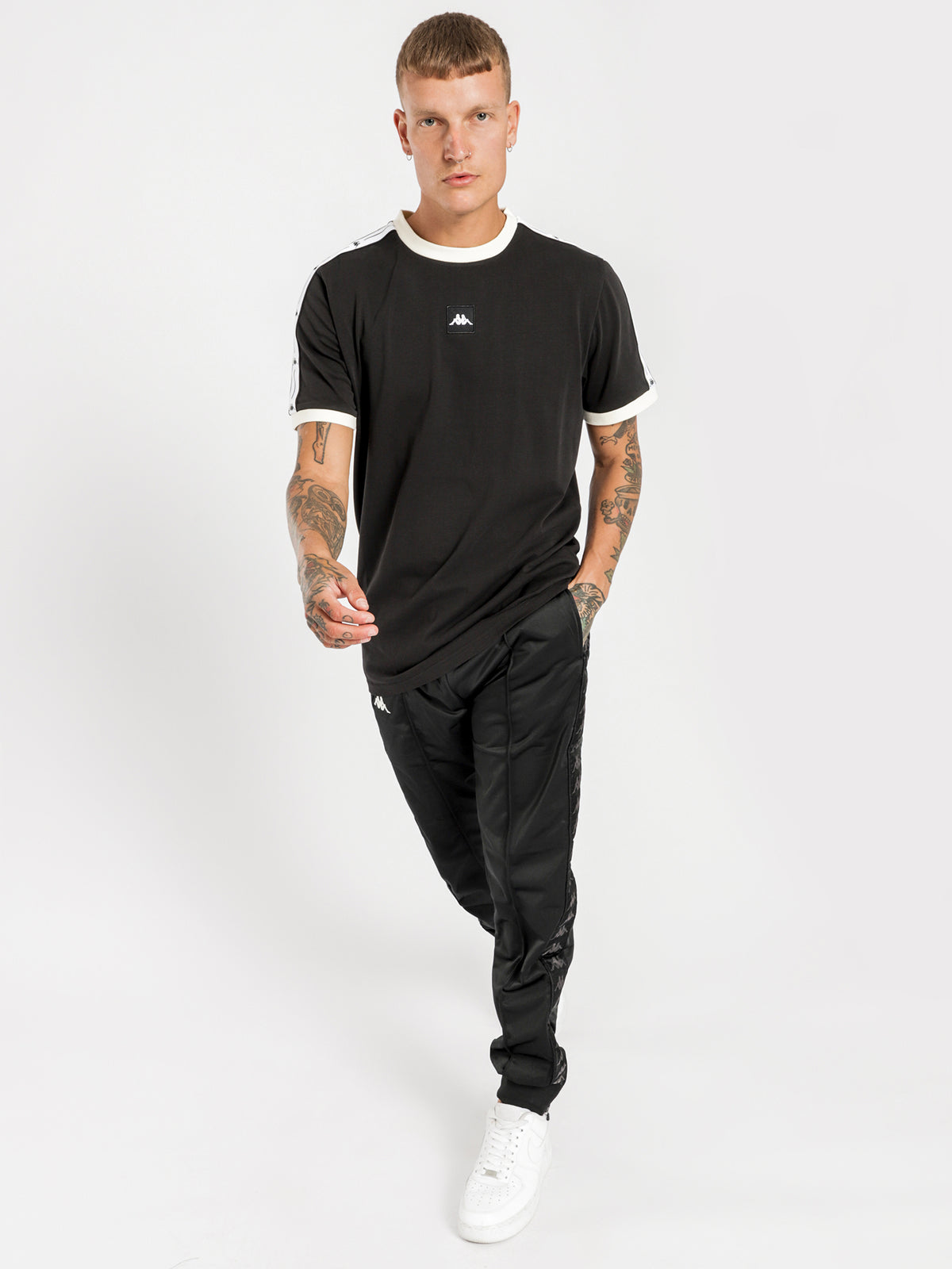 Authentic JPN Cymino T-Shirt in Black