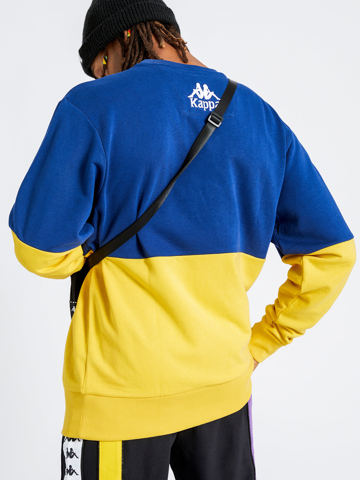 Authentic Clinic Jumper in Blue & Yellow