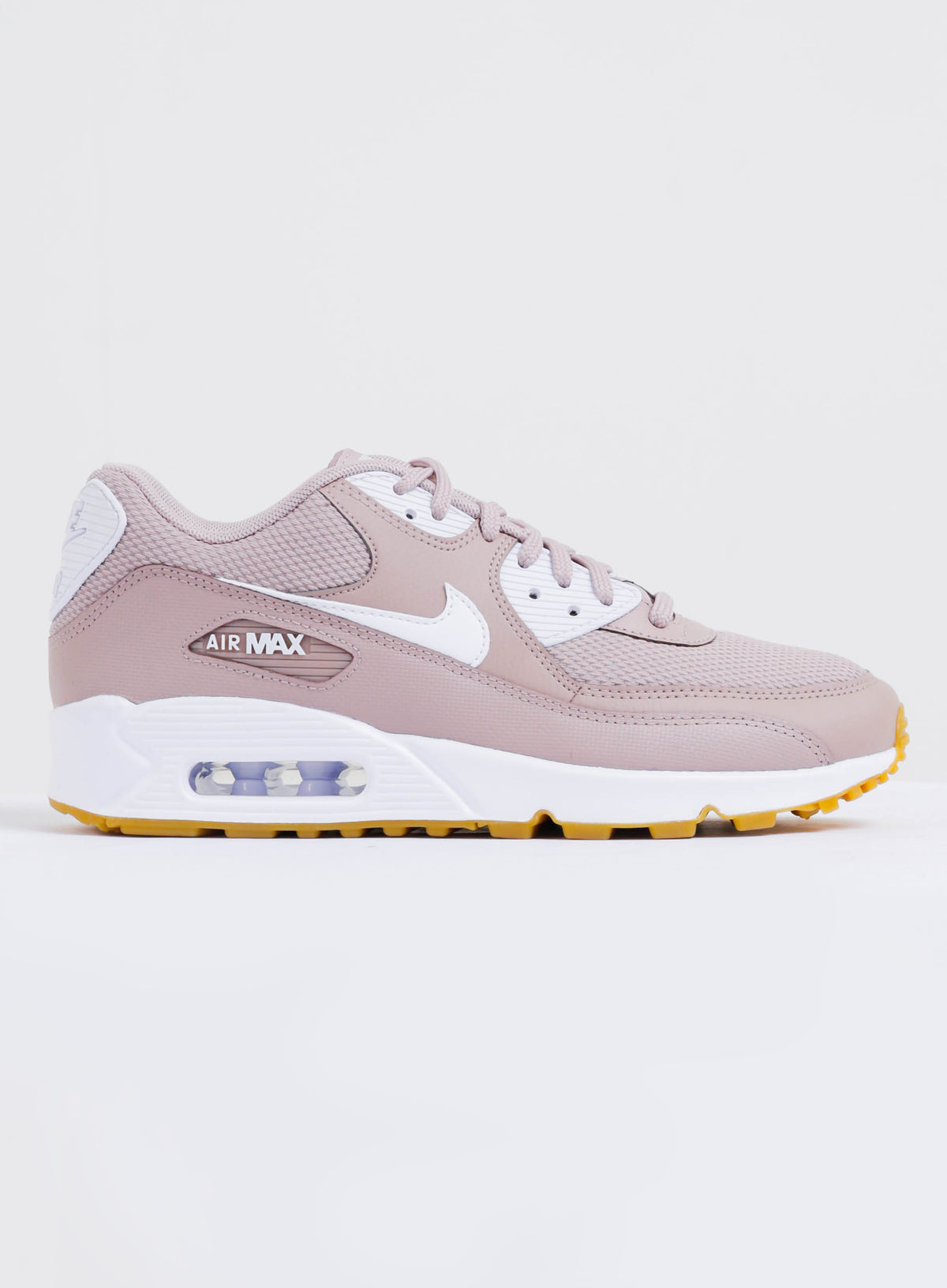 Womens Air Max 90 Sneakers in Taupe & White