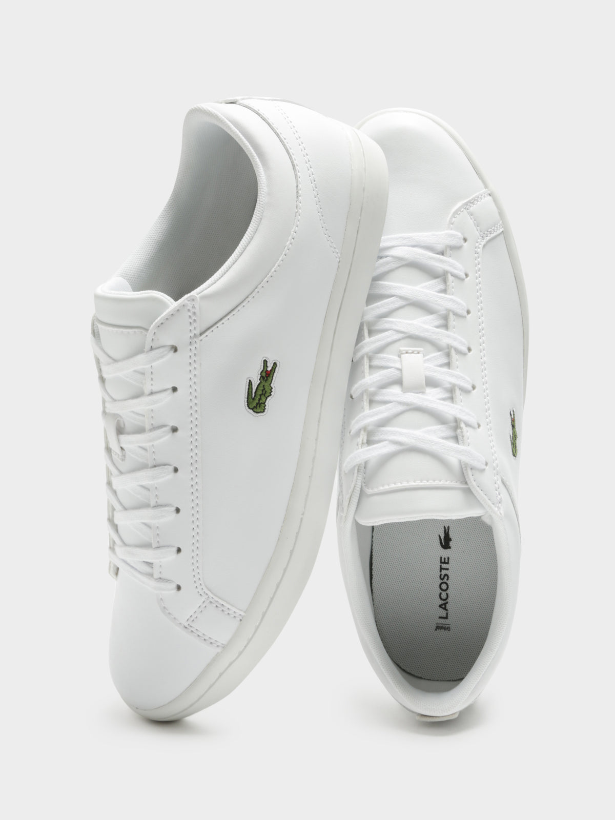 Mens Straight Set BL1 Sneakers in White