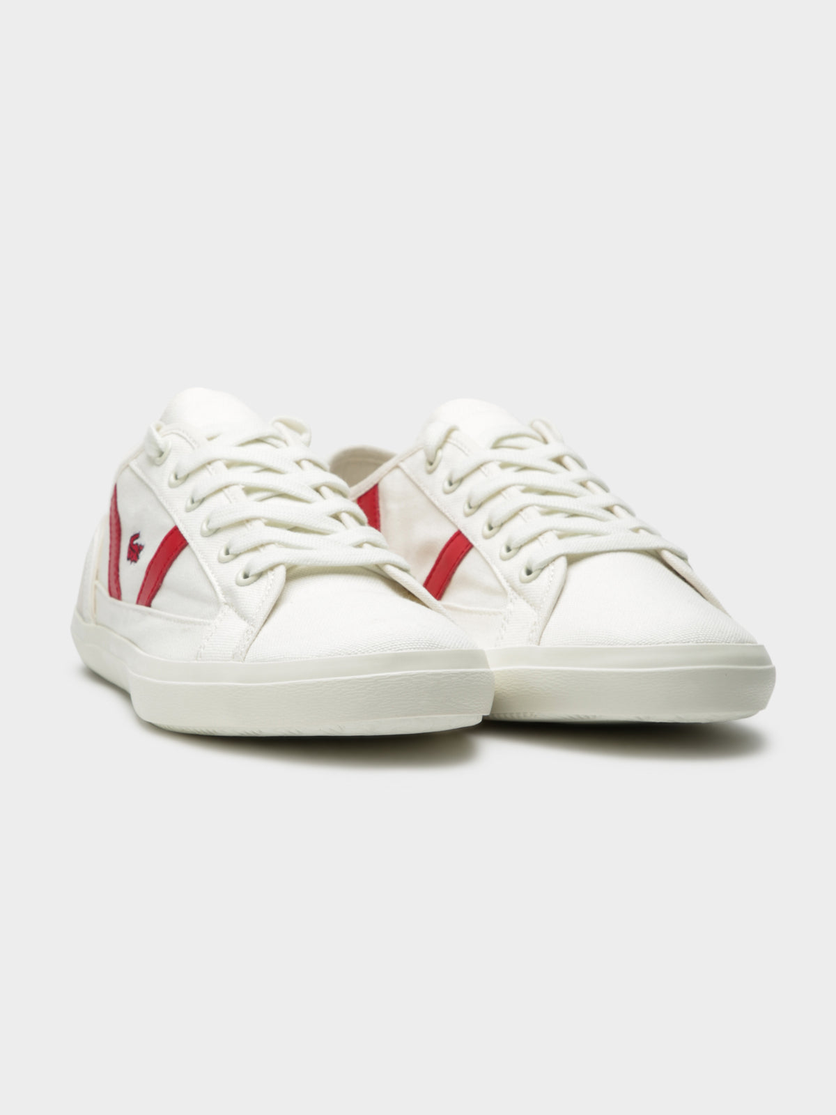 Womens Sideline 119 1 CFA Sneakers in Off White & Red