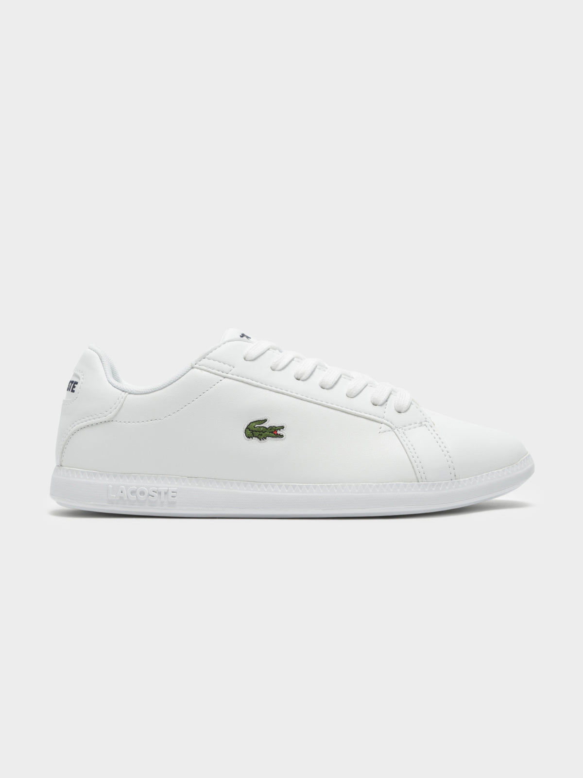 Womens Graduate BL 1 Sneakers in White