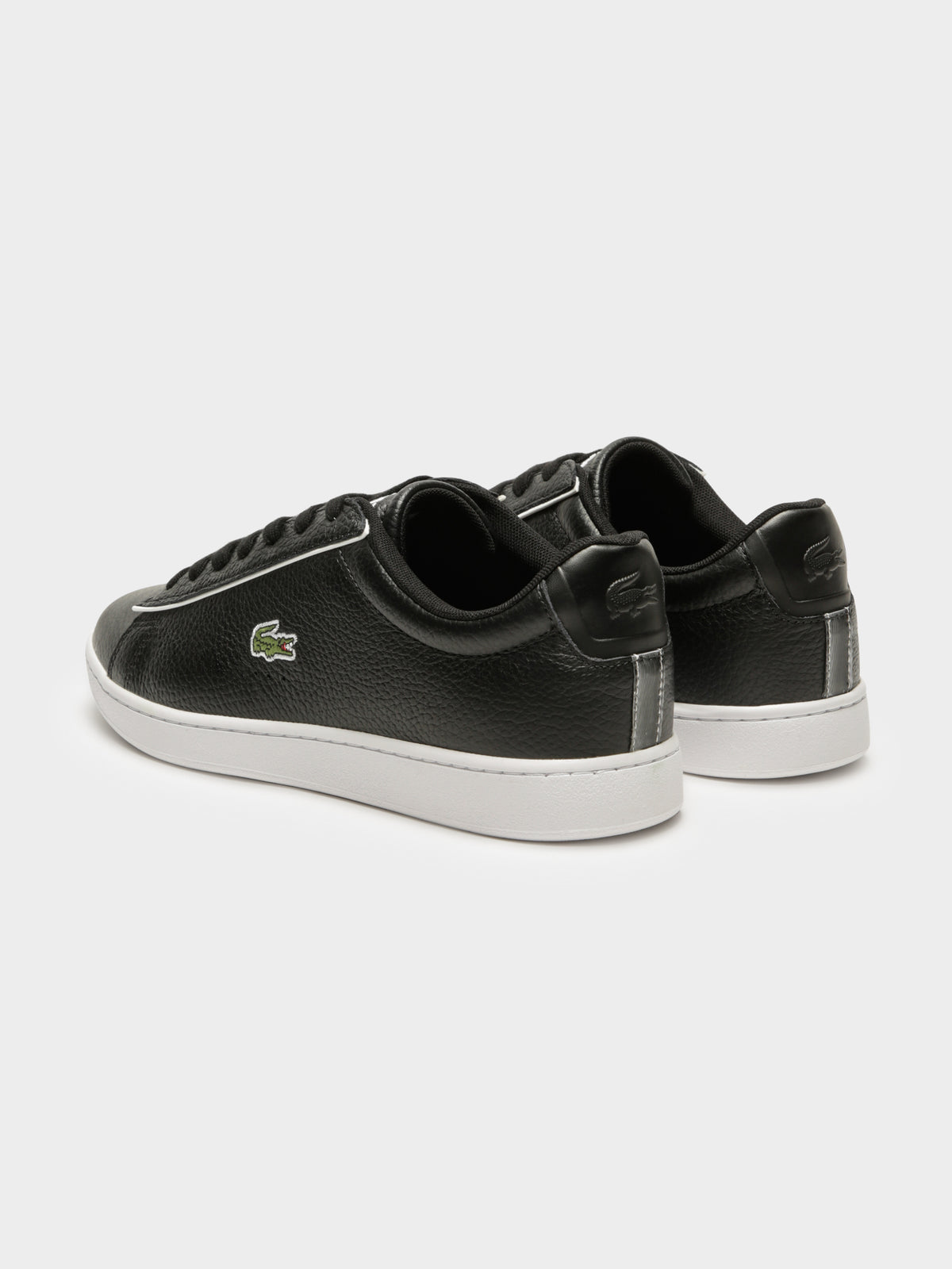 Mens Carnaby Evo 120 2 SMA Sneakers in Black & White
