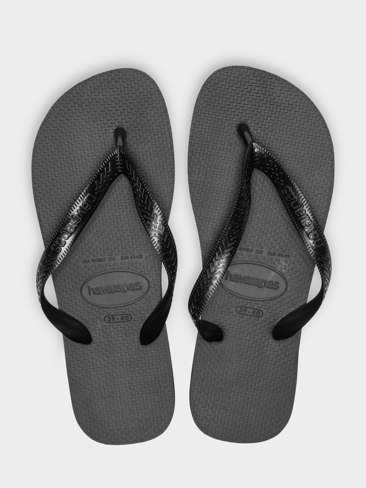 Havaianas Top Thongs in Black