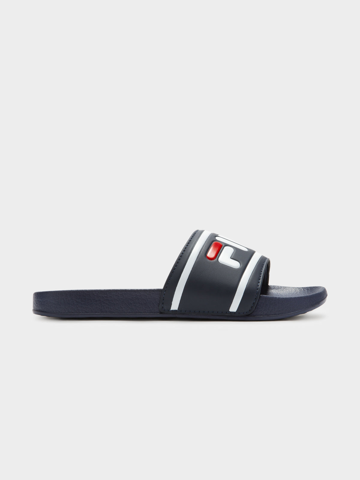 Fila Slides in Navy