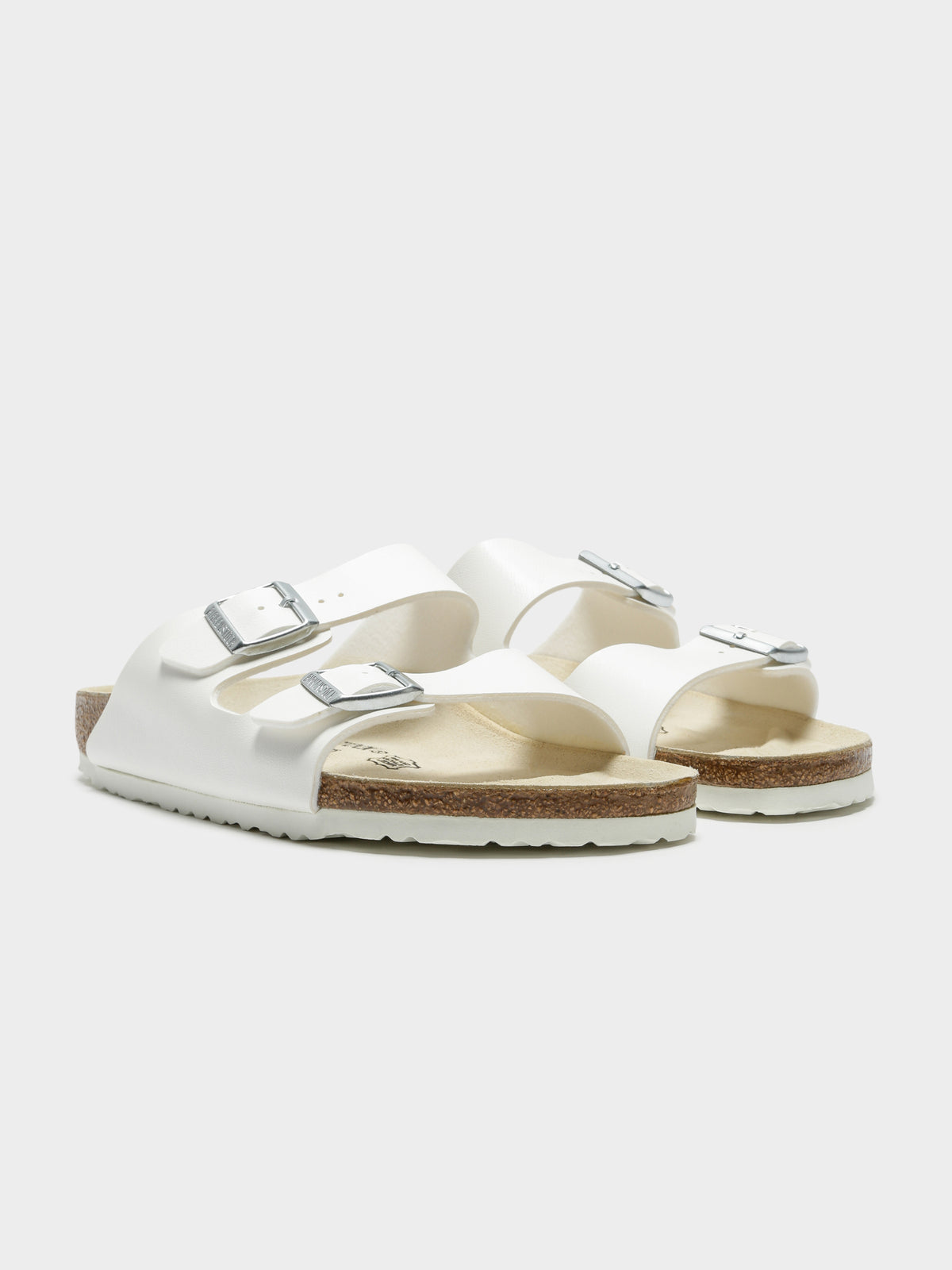 Unisex Arizona Narrow Fit Sandals in White