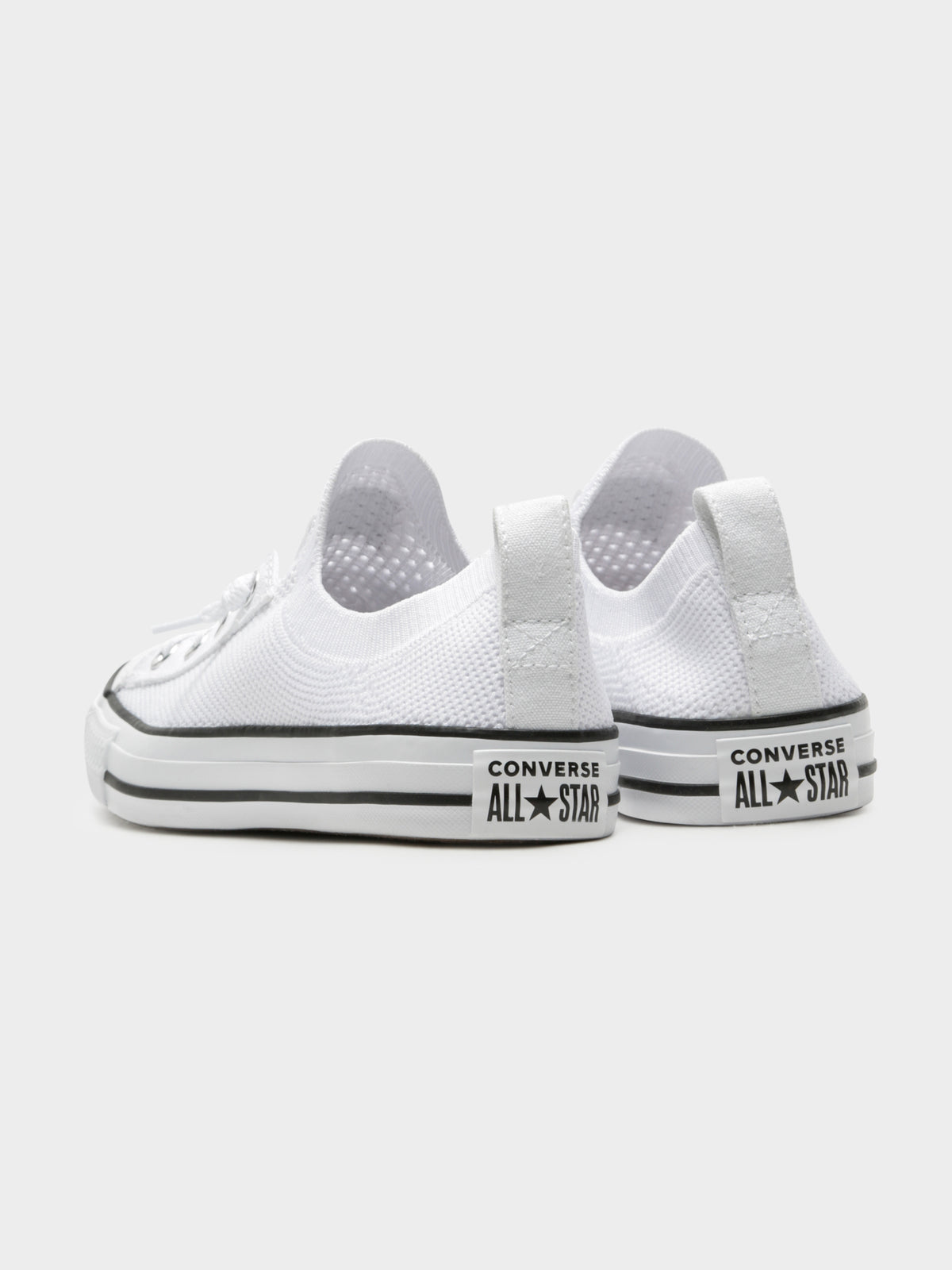 Chuck Taylor All Star Shoreline Knit Slip-On Sneakers in White