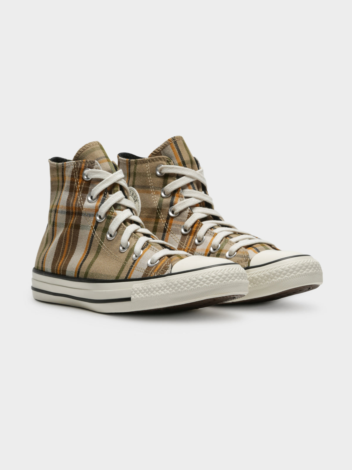 Womens Chuck Taylor All Star Mix & Match High Top Sneakers in Nomad Khaki