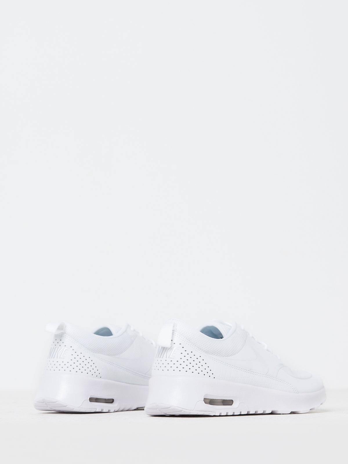 Womens Air Max Thea Sneakers in White