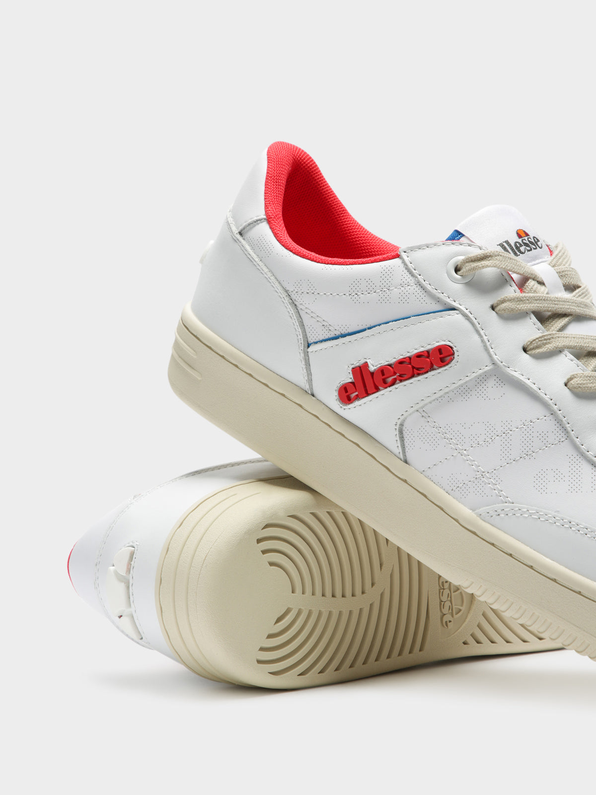 Mens Vinitziana 2.0 Sneakers in White Leather
