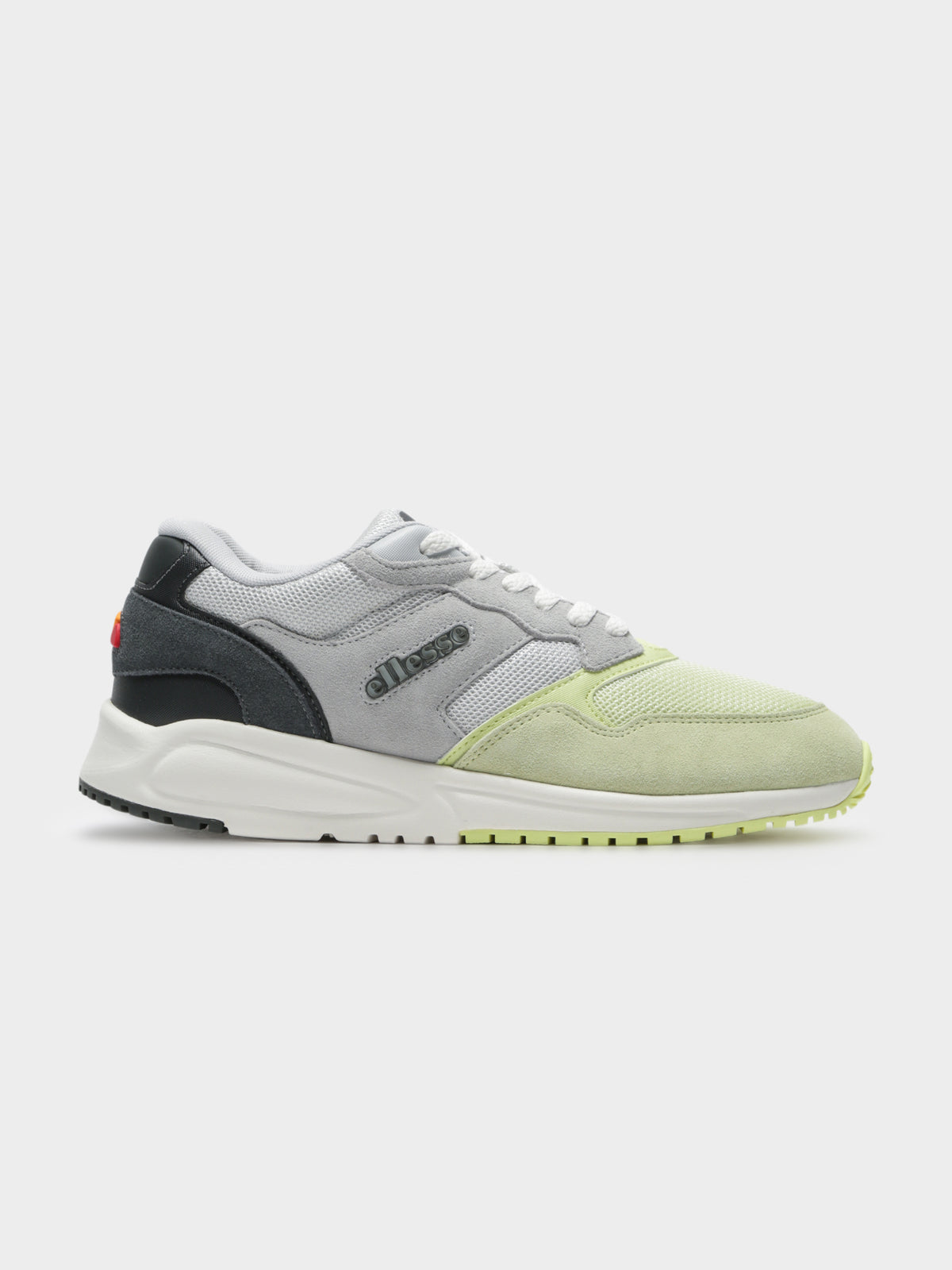 Womens NYC84 Sneakers in Grey & Green