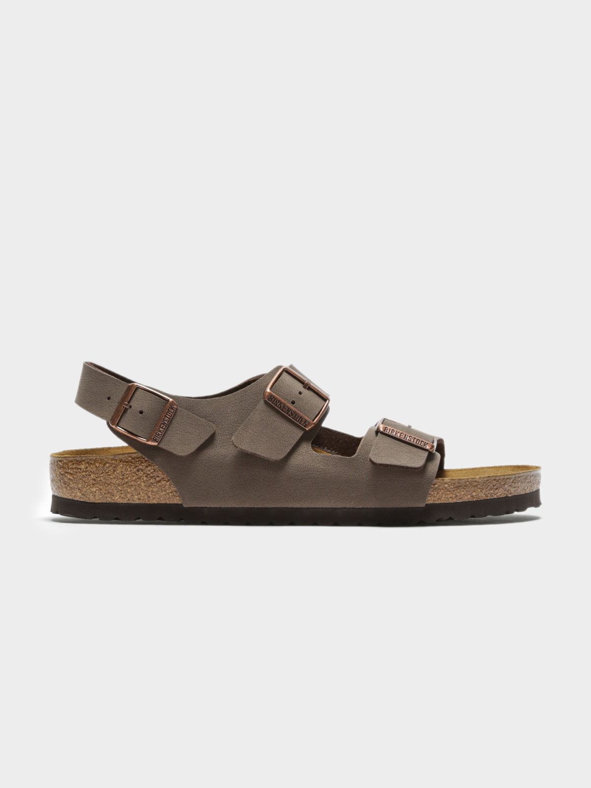 Unisex Milano Sandle in Mocca