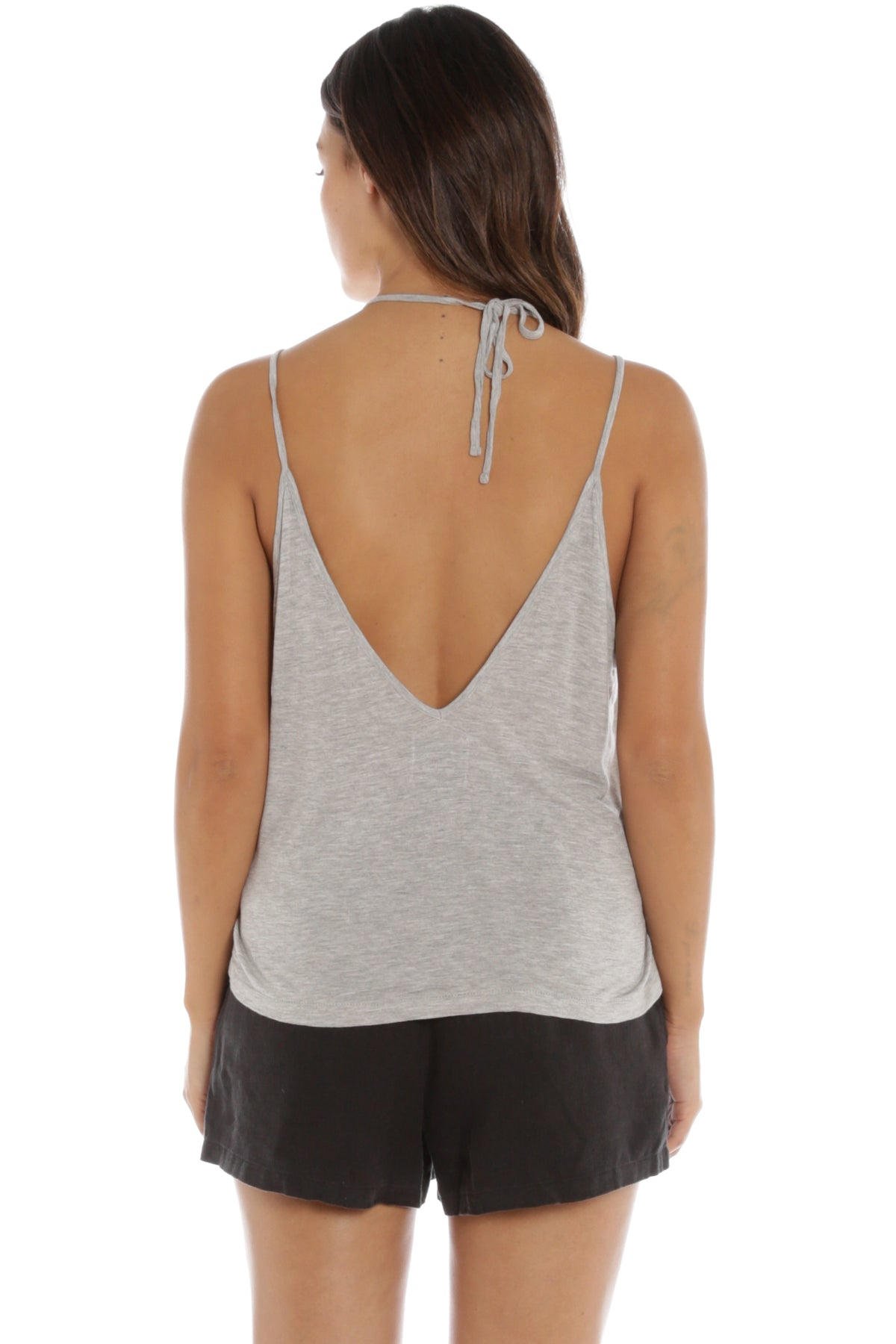 Rock It Singlet in Grey Marle