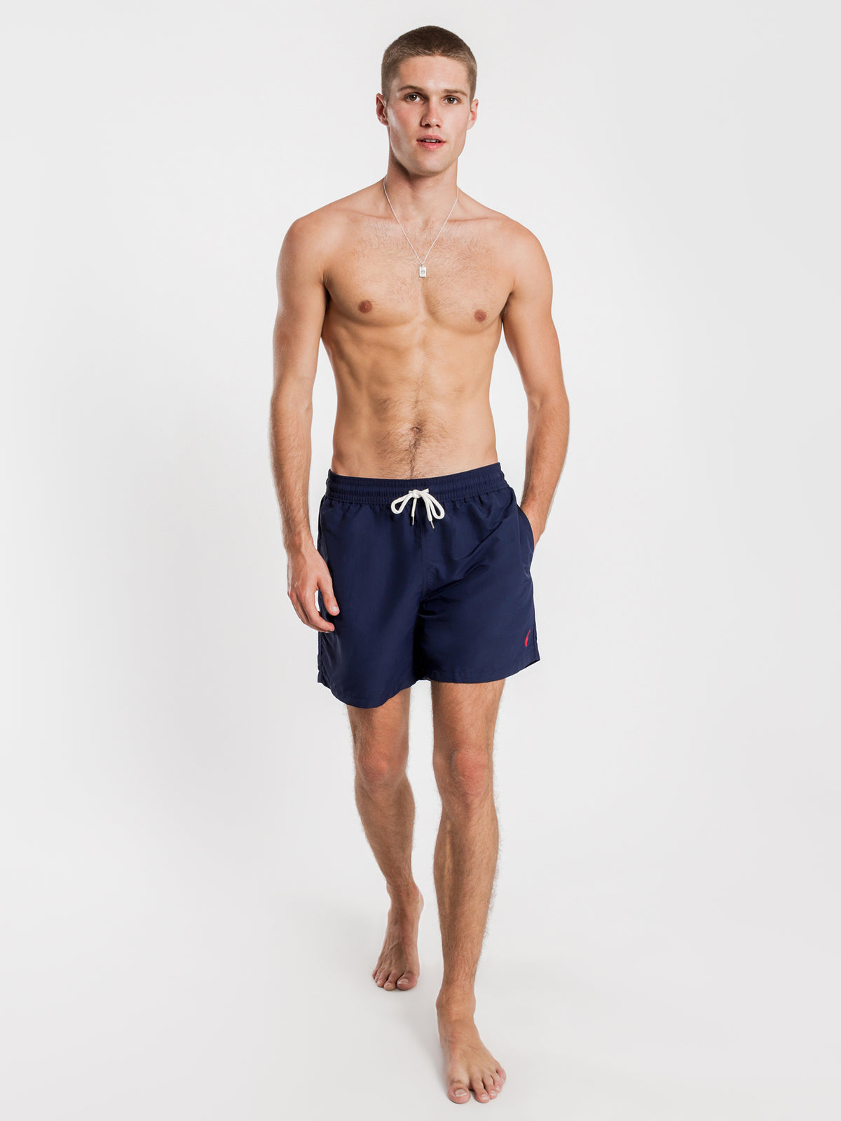 Traveller Swim Shorts in Navy