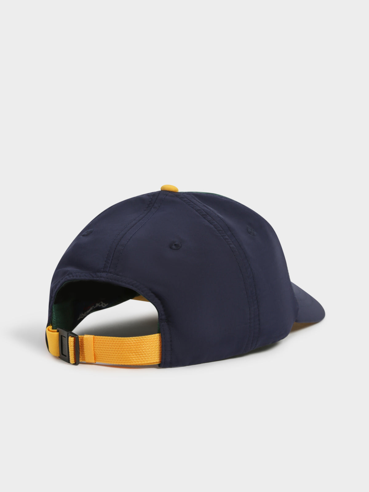 Nylon CLS Sports Cap in College Green & Cruise Navy