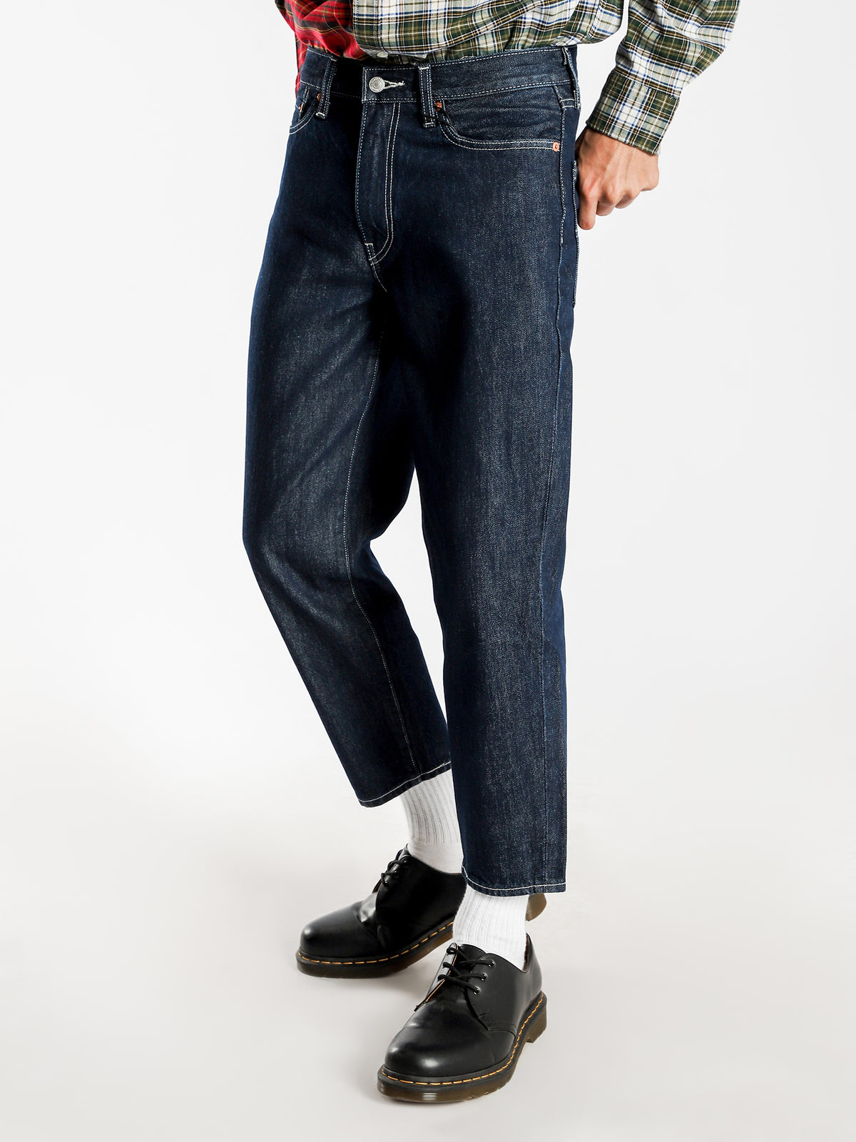 562 Loose Taper Utility Jeans in Work Bench Blue Denim