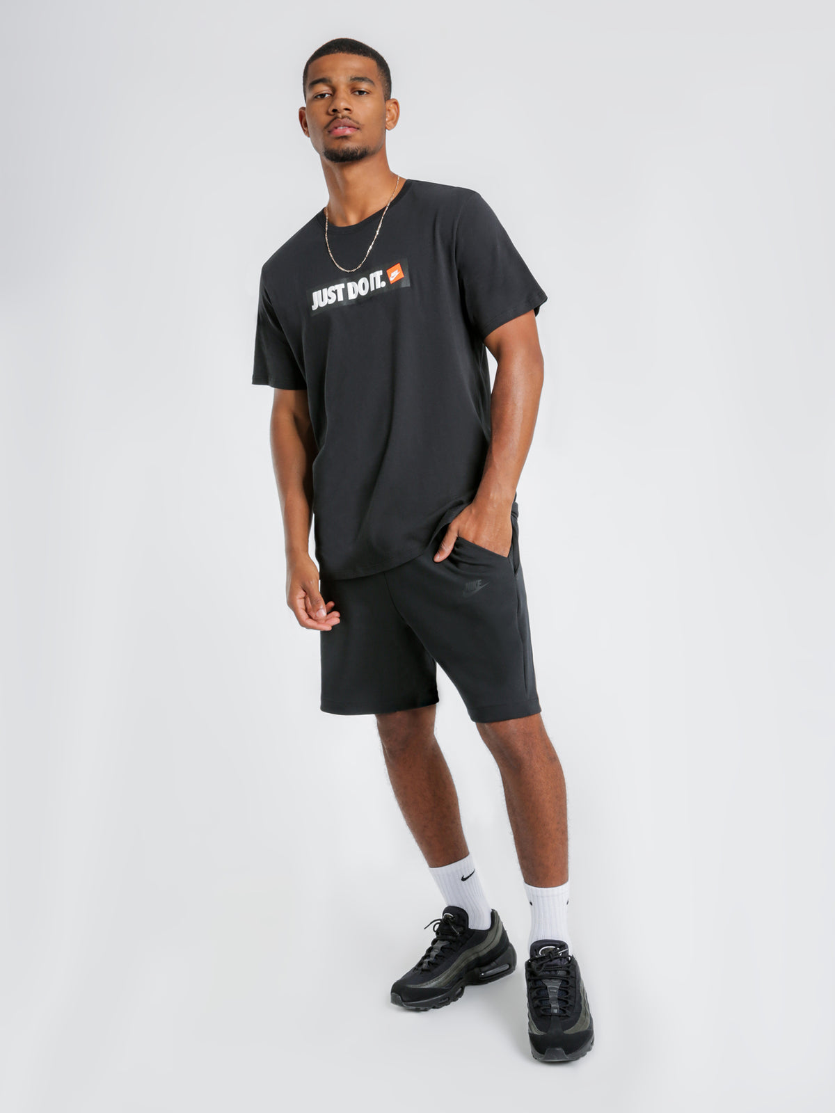 Sportswear Tech Fleece Shorts in Black