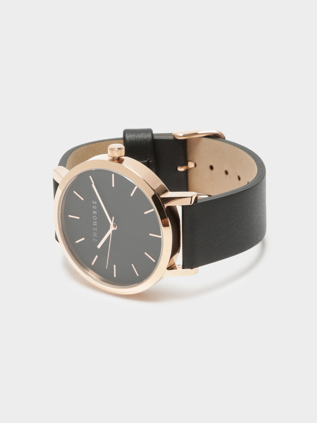 The Original Watch in Polished Rose Gold & Black