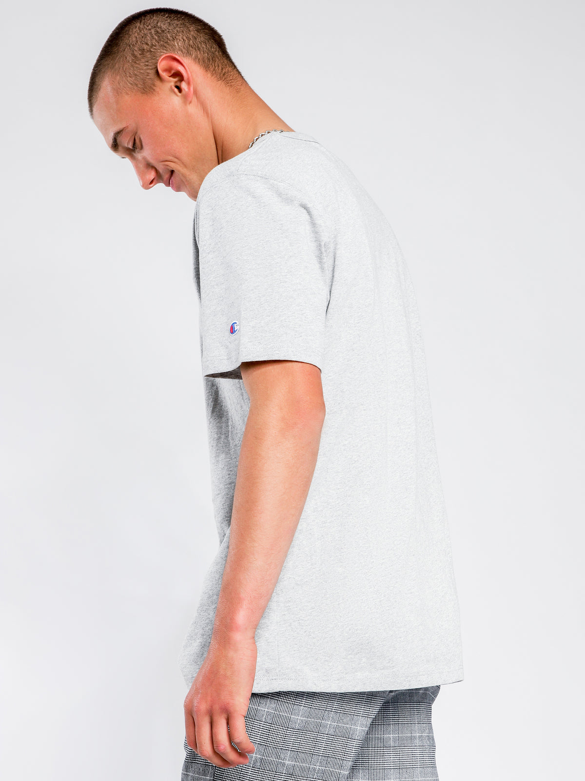Heritage Short Sleeve T-Shirt in Grey