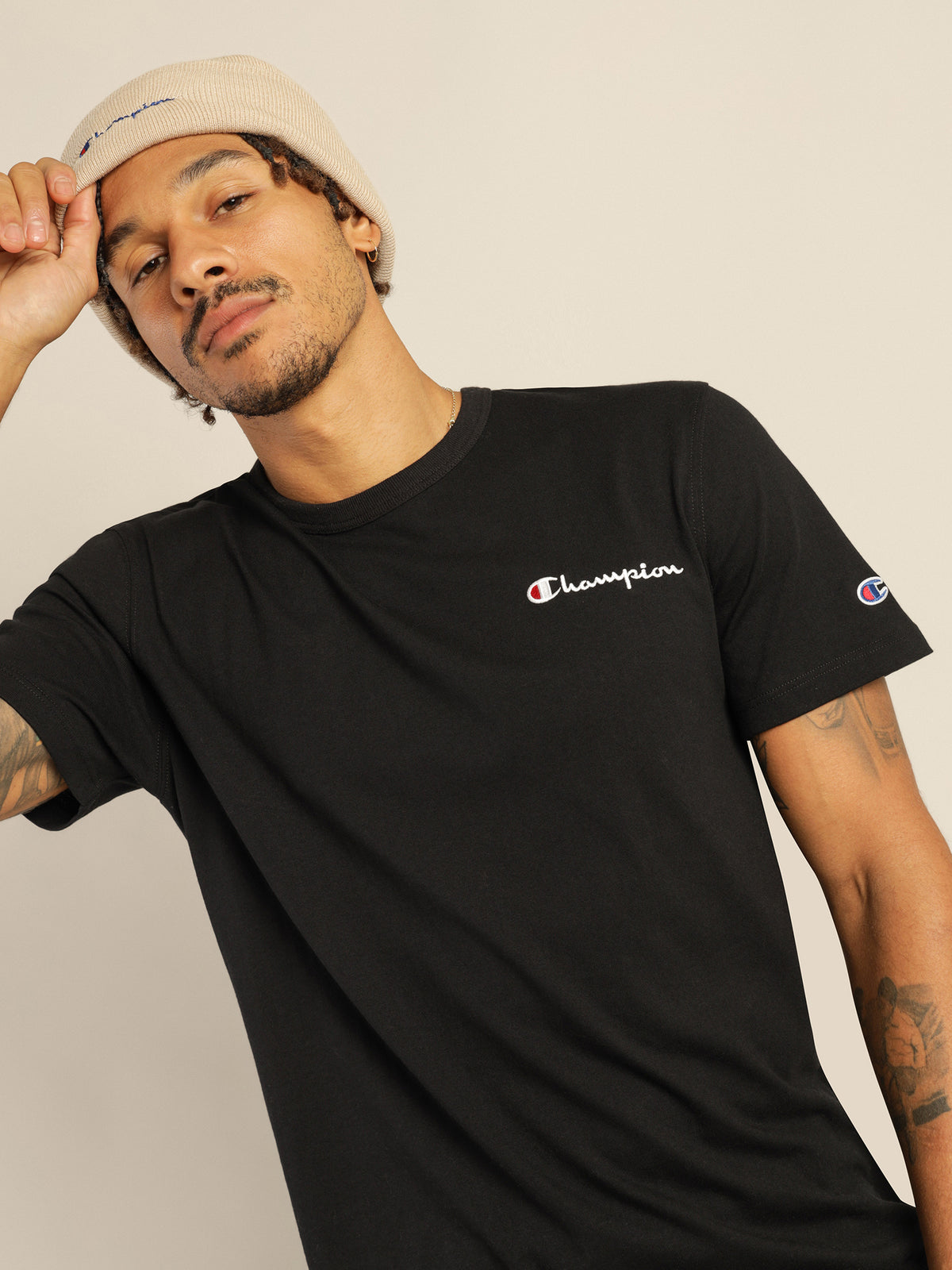 Heritage T-Shirt in Black