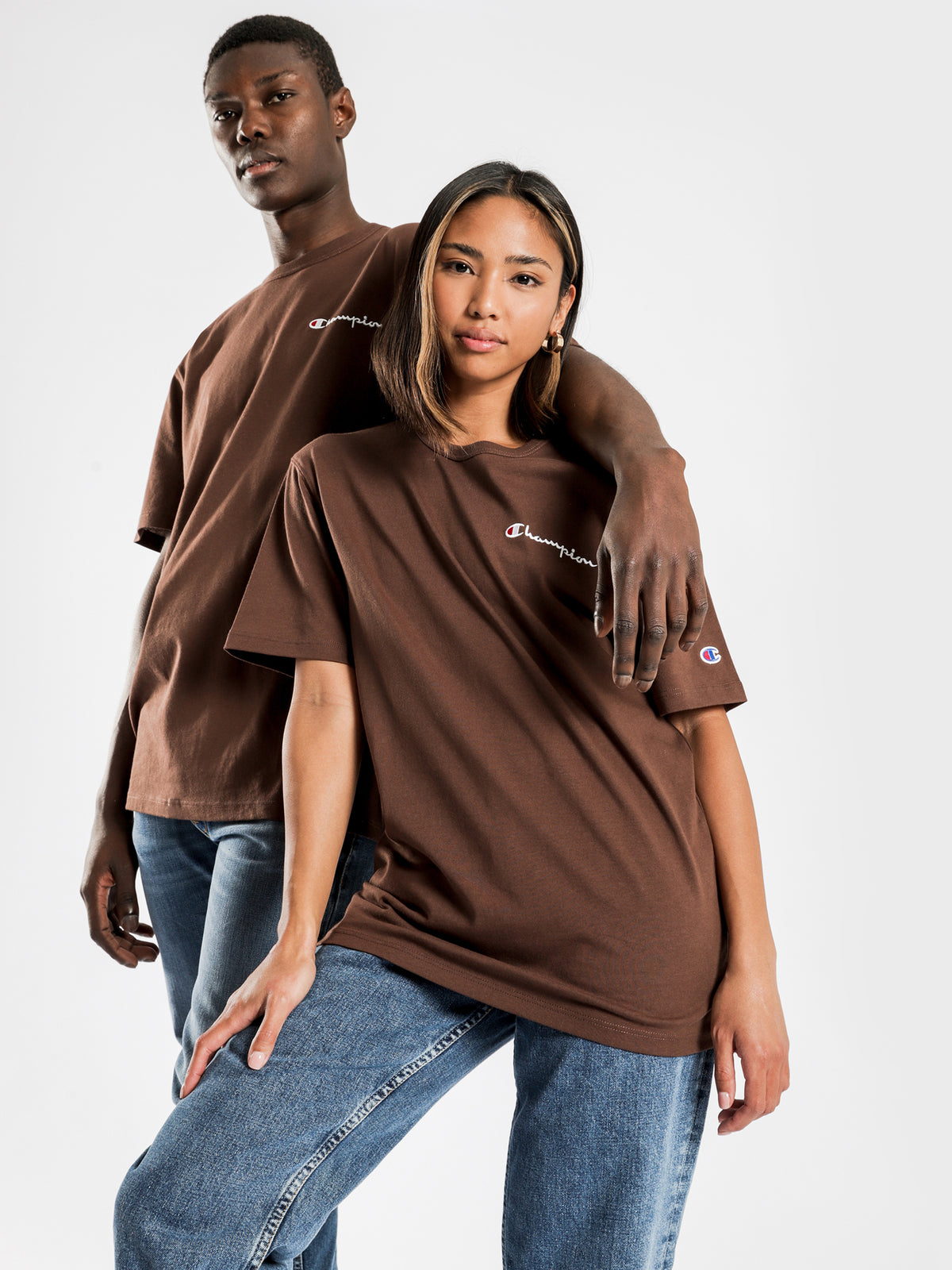 Heritage T-Shirt in Coco Loco Brown