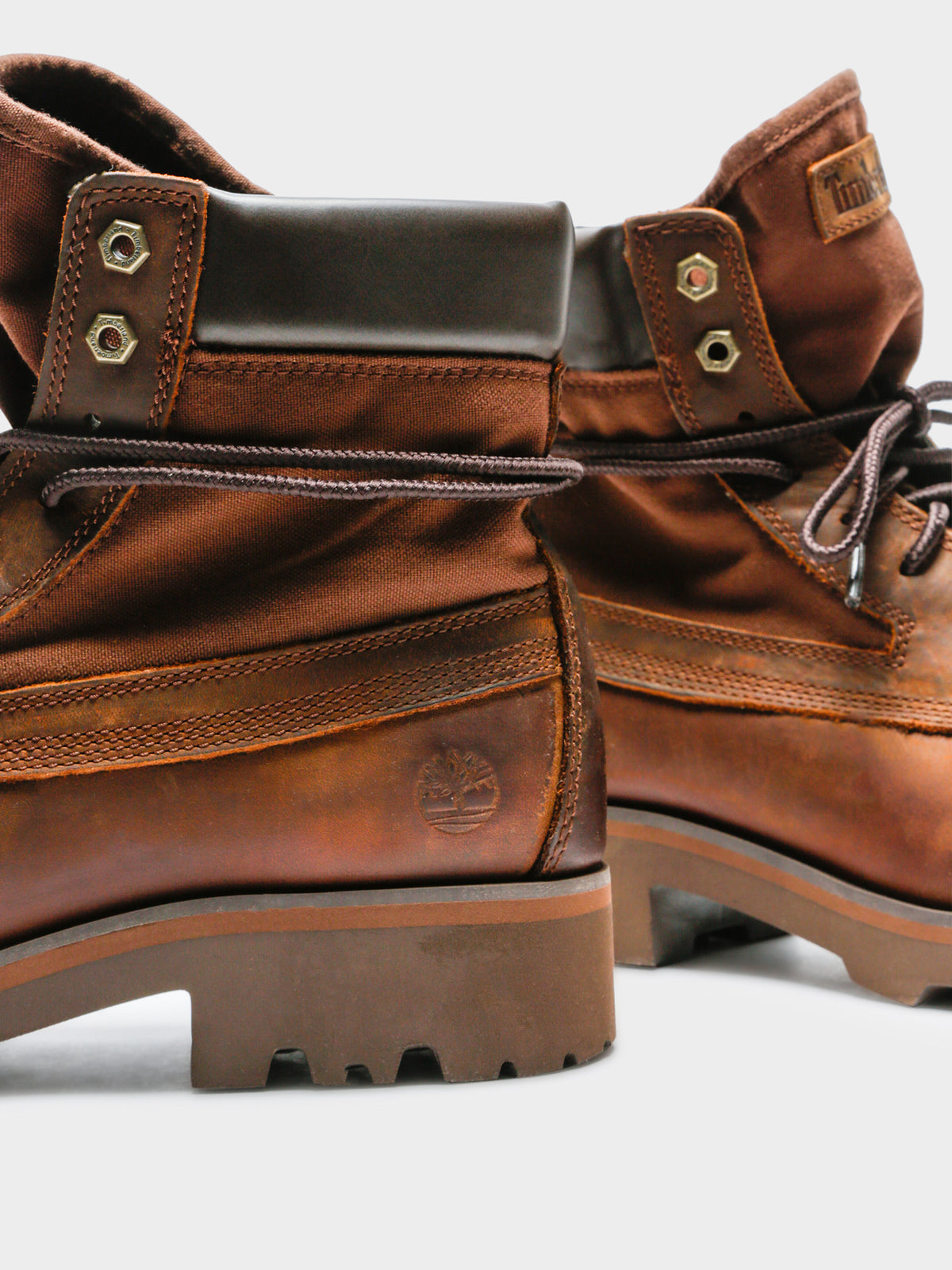Raw Tribe 6 In Boot in Brown Full Grain