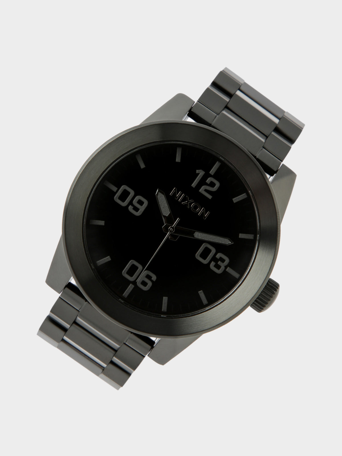 Corporal Stainless Steel Watch in All Black