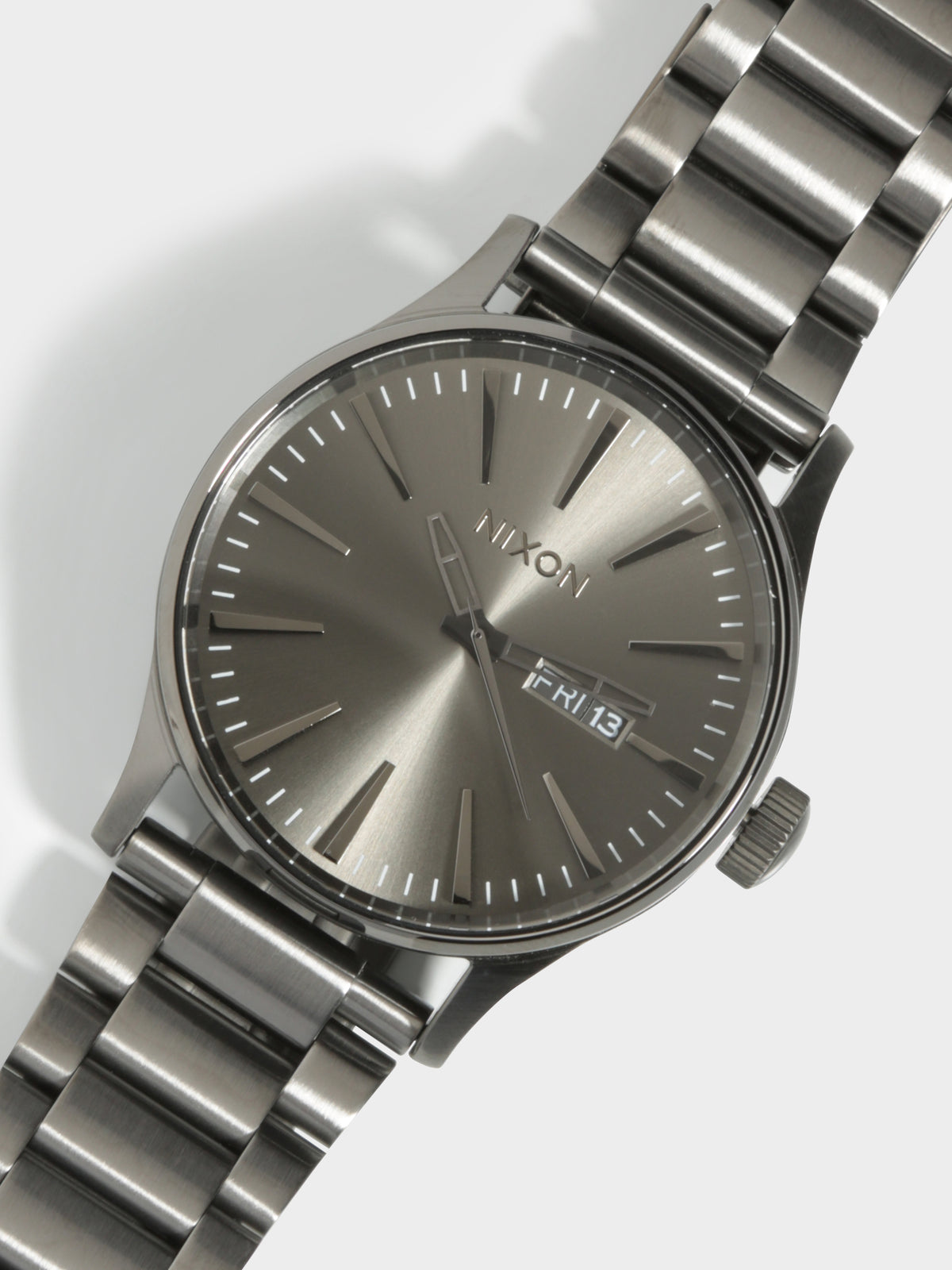Sentry Stainless Steel Watch in Gunmetal