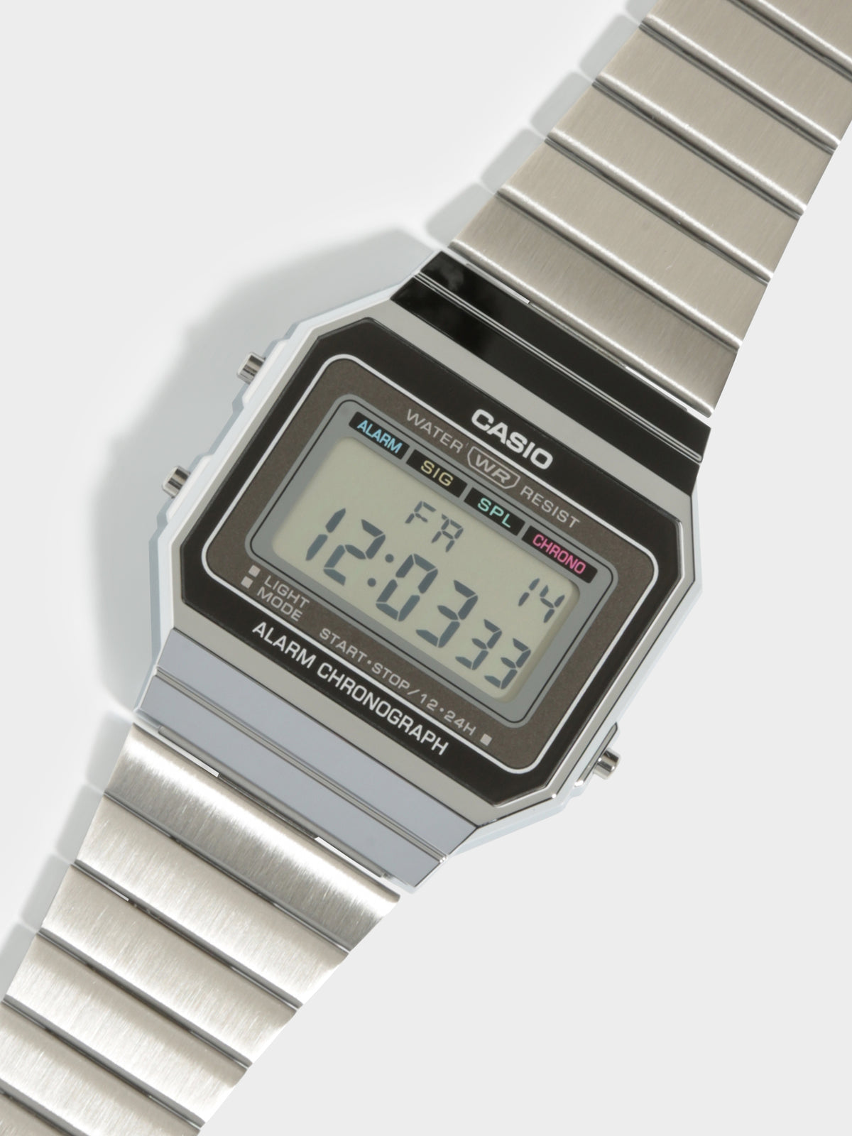 Super Slim A700 Digital Watch in Sliver