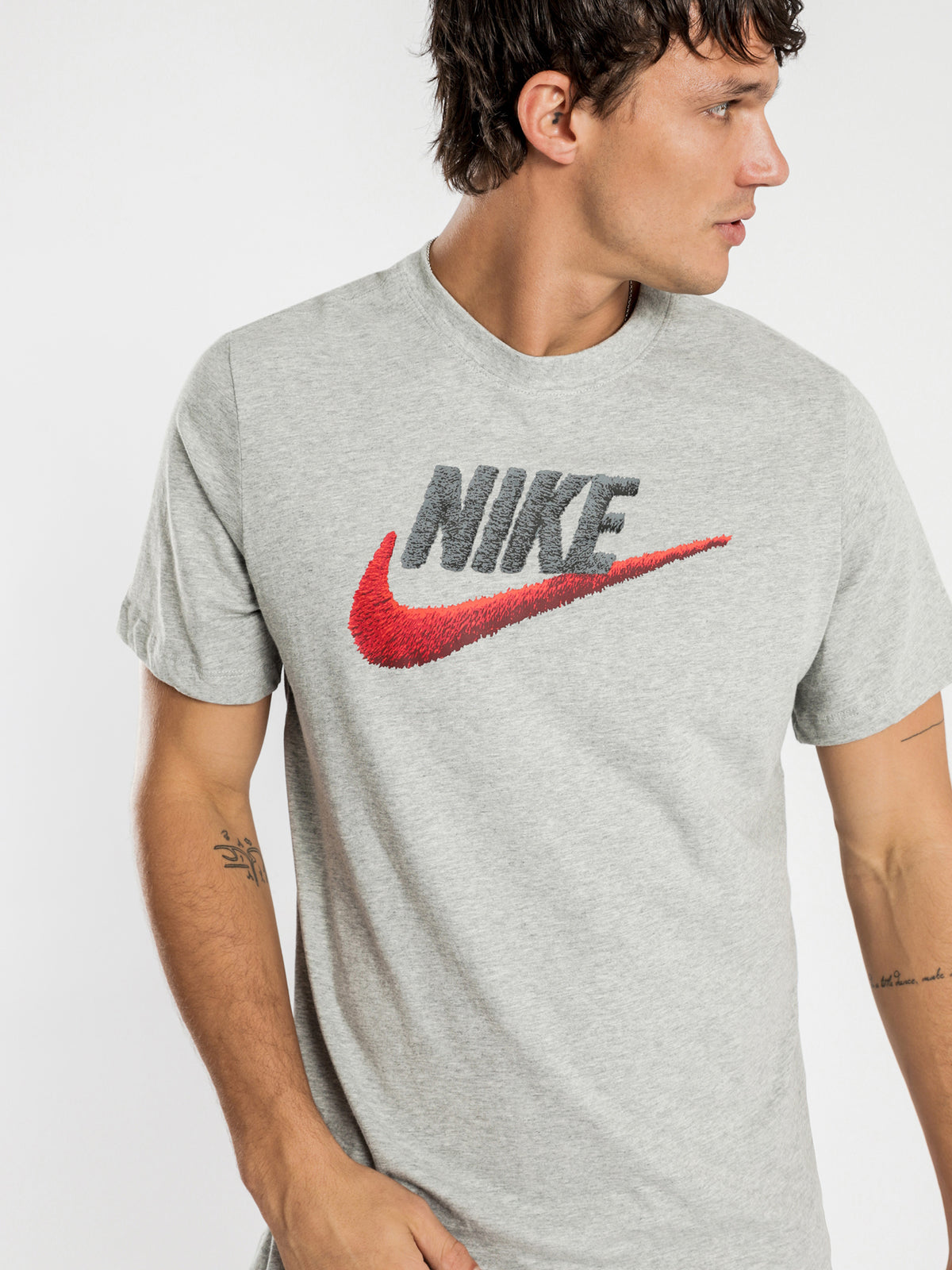 NSW Brand Mark T-Shirt in Grey