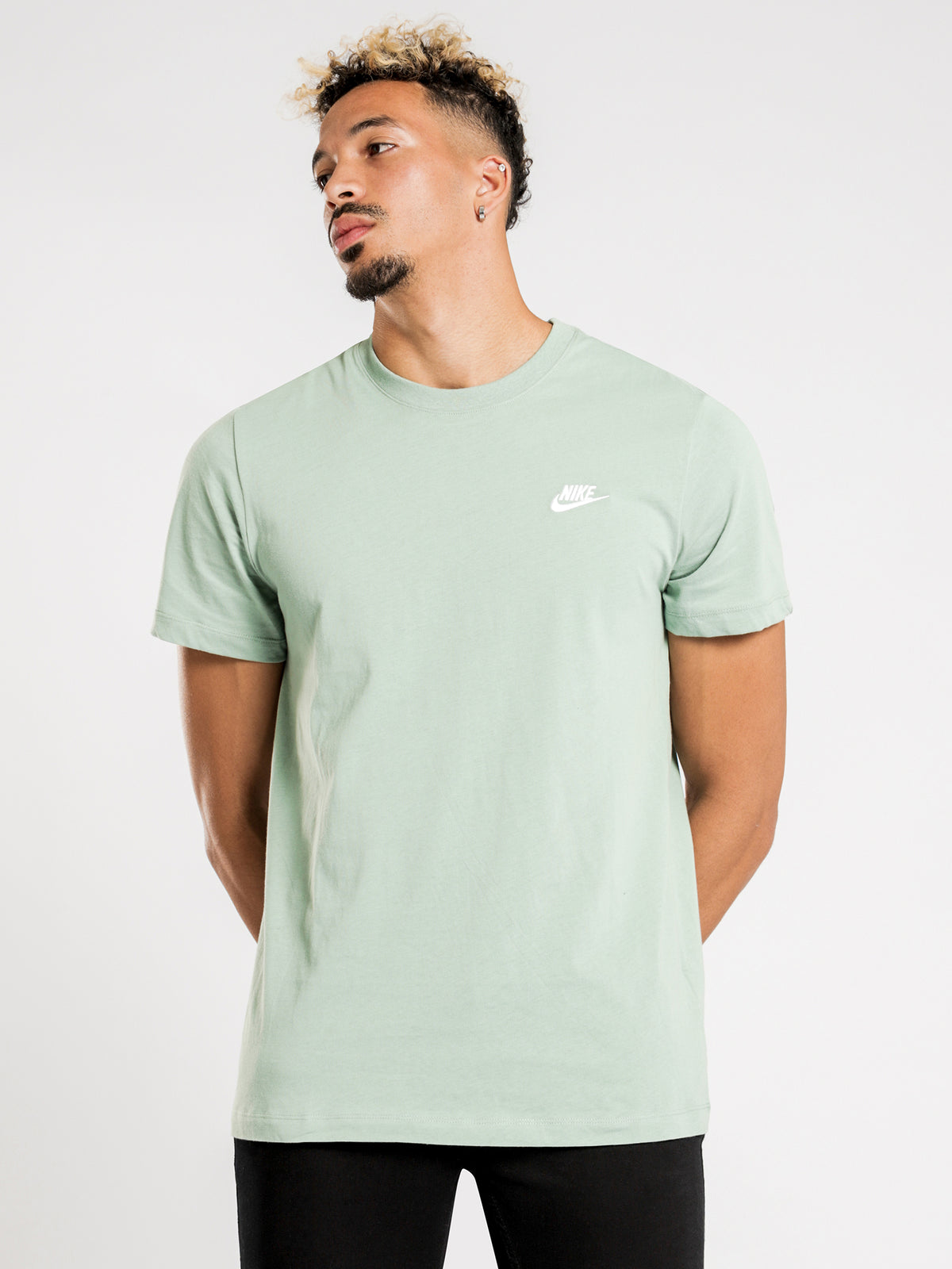 NSW Club T-Shirt in Green & White