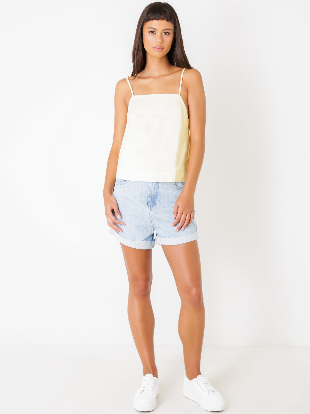 Leisure Shorts in Sea Blue Denim