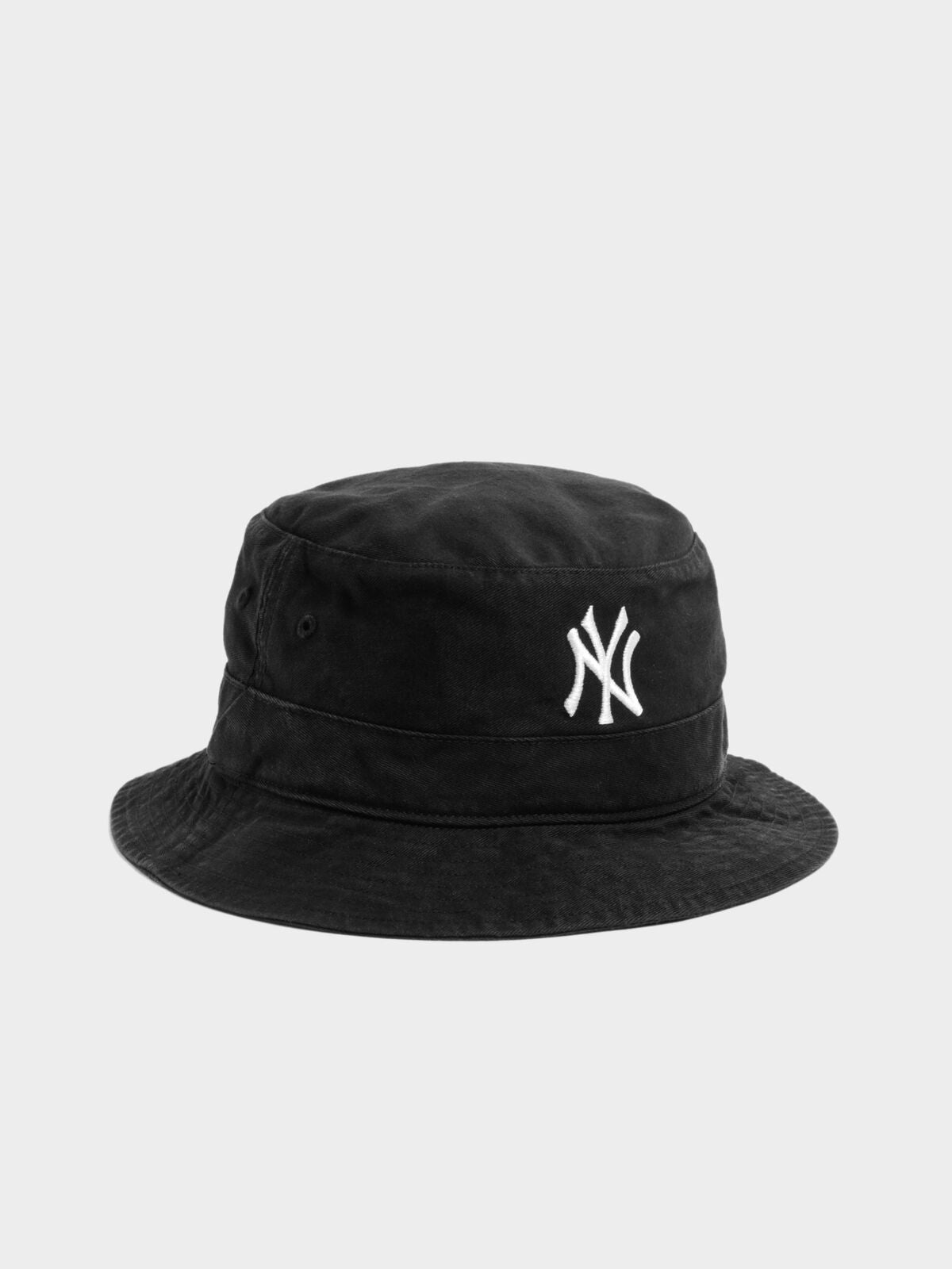Yankees Bucket Hat in Black