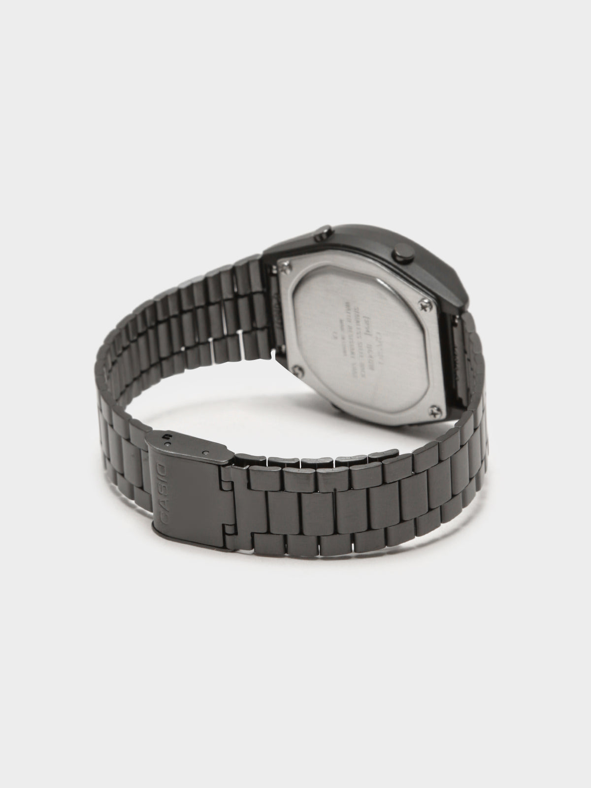 Unisex Vintage Digital Watch in Black