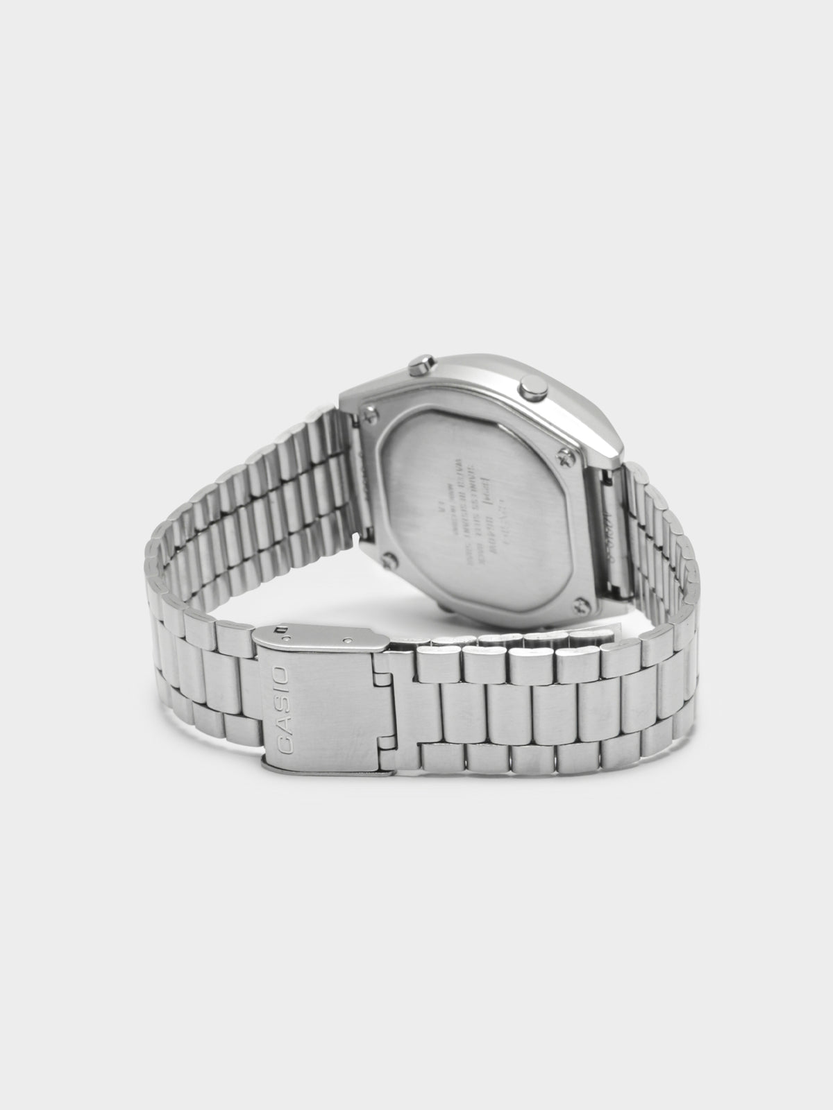 B640WD-1A Stainless Steel Watch in Silver