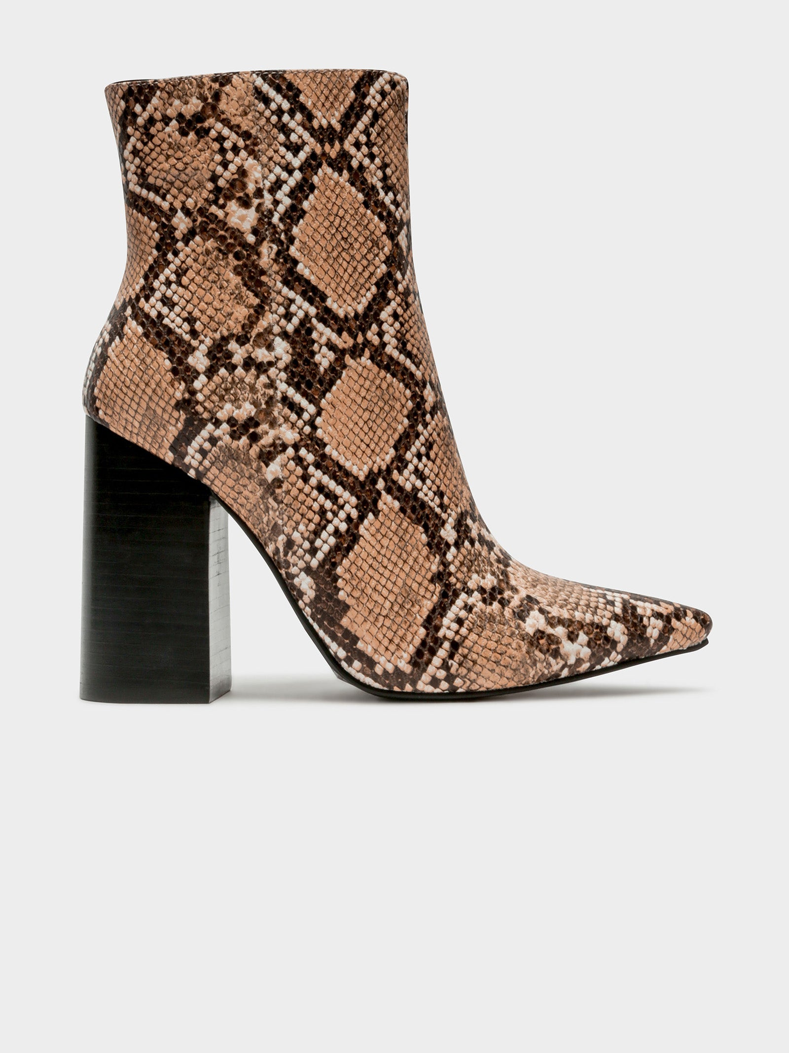 Tio Boots in Tan Snake