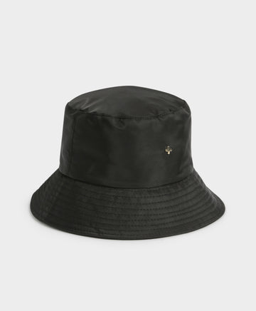 Bae Nylon Bucket Hat in Black