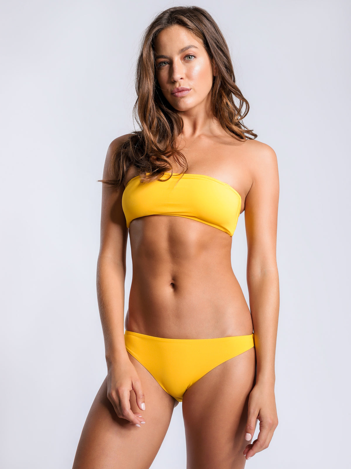 Basic Swim Brief in Yellow