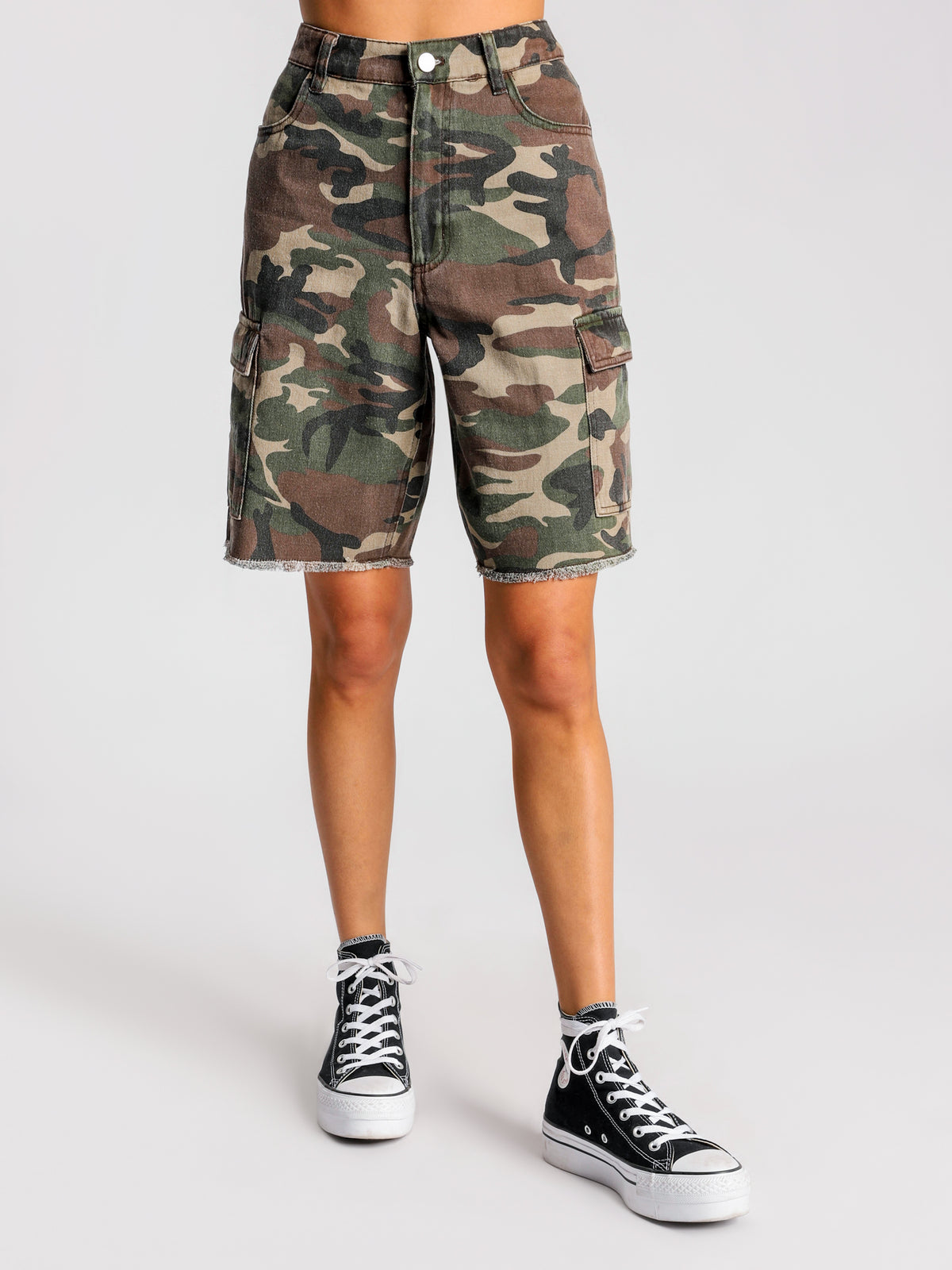 Artillery Shorts in Camouflage
