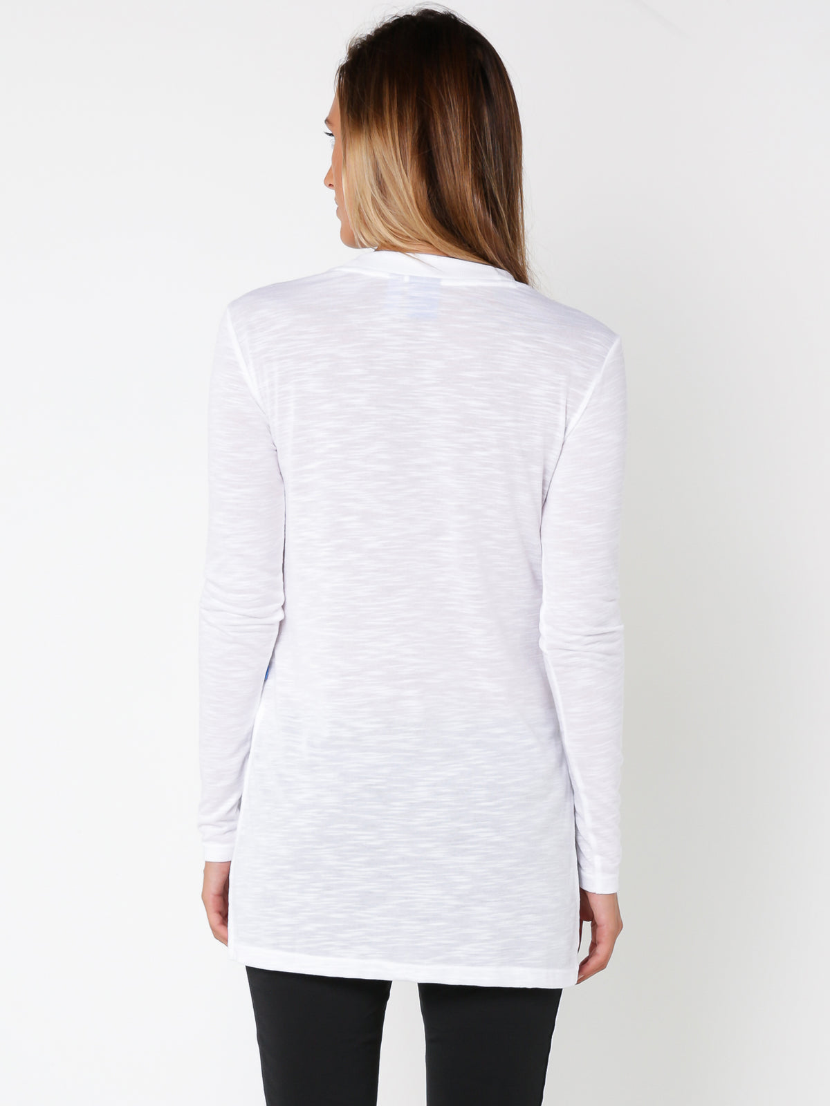 Long Sleeve T-Shirt in White