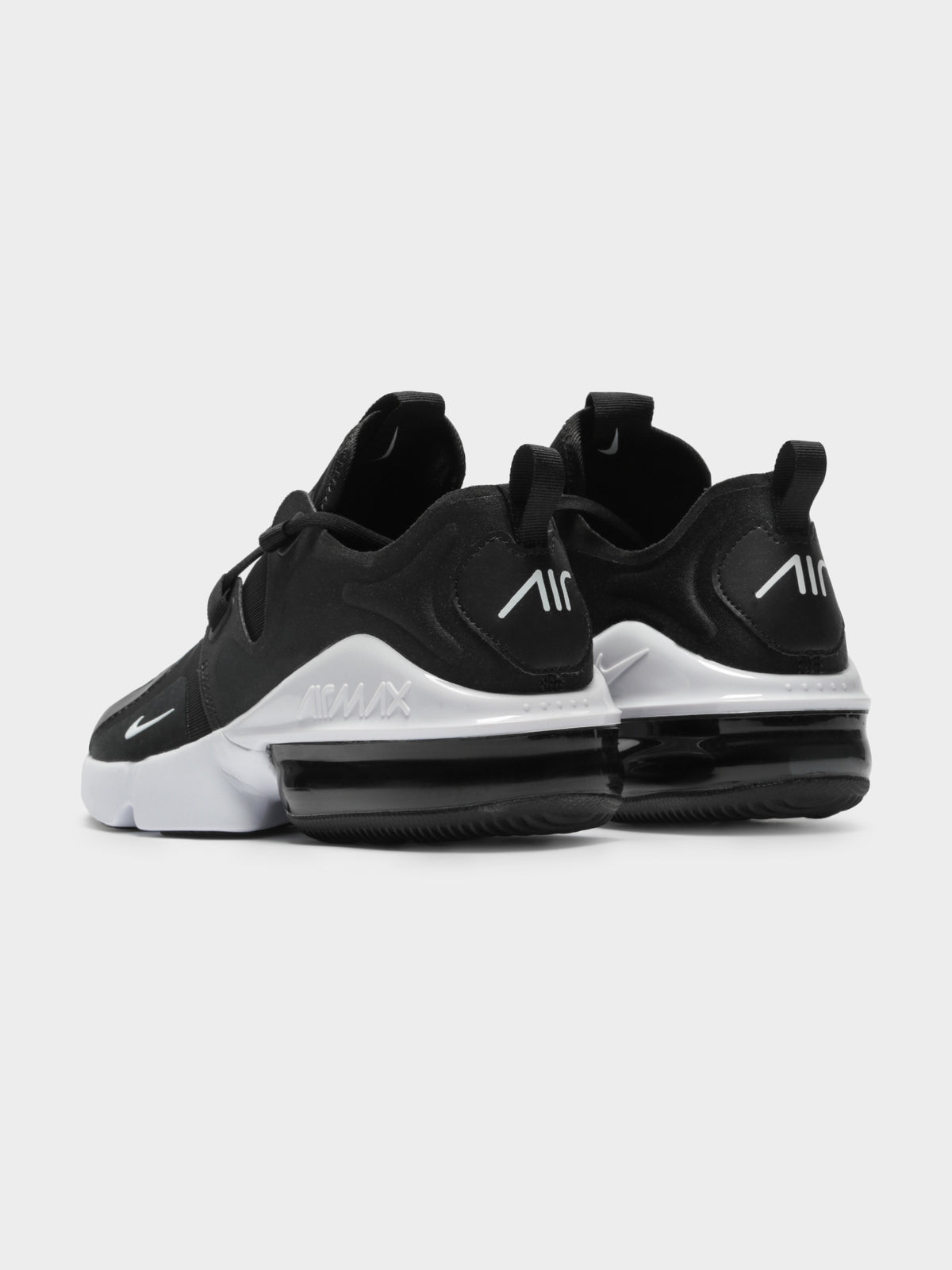 Mens Air Max Infinity Sneakers in Black & White