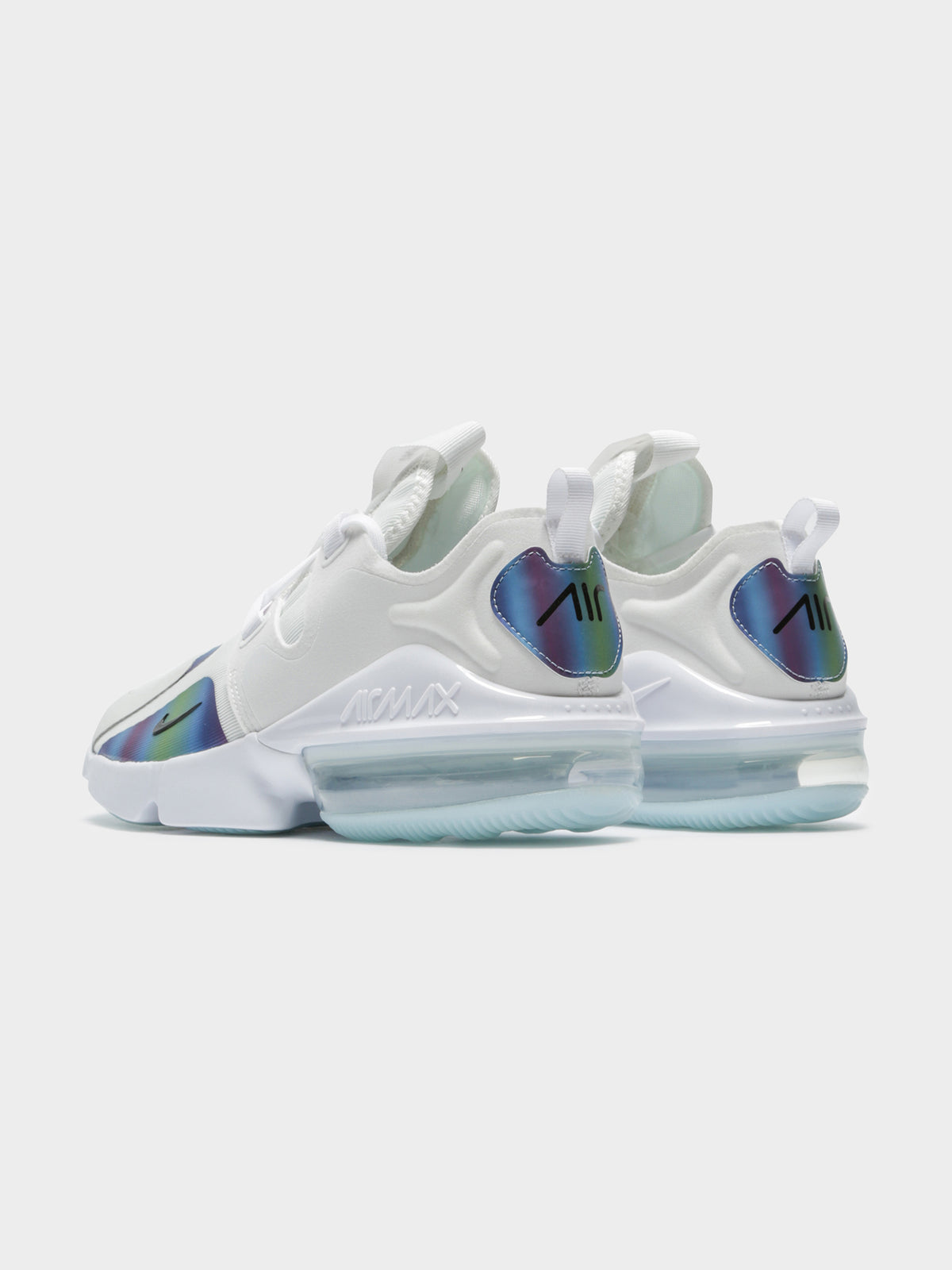 Mens Air Max Infinity Sneakers in Summit White & Black