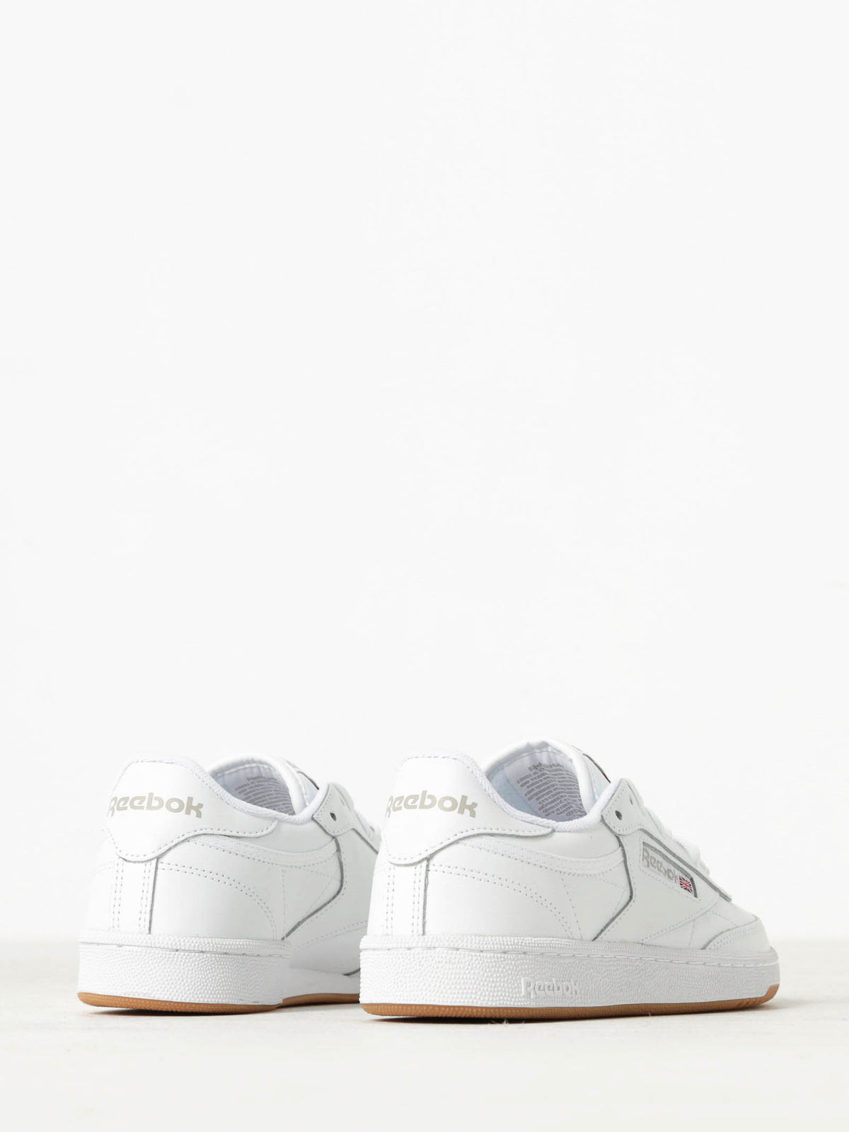Womens Club C 85 Sneakers in White Leather