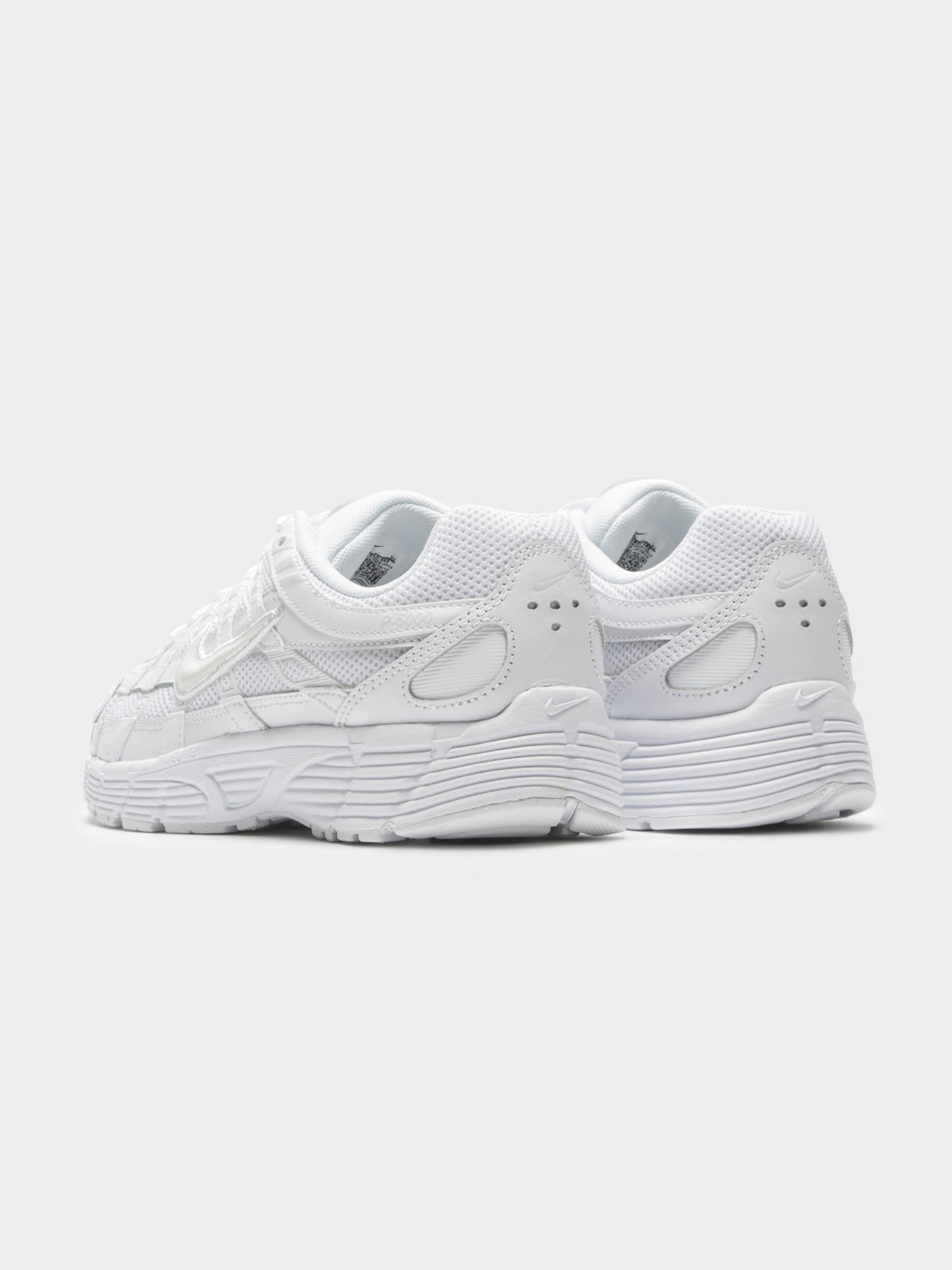 Womens Nike P 6000 Sneakers in White