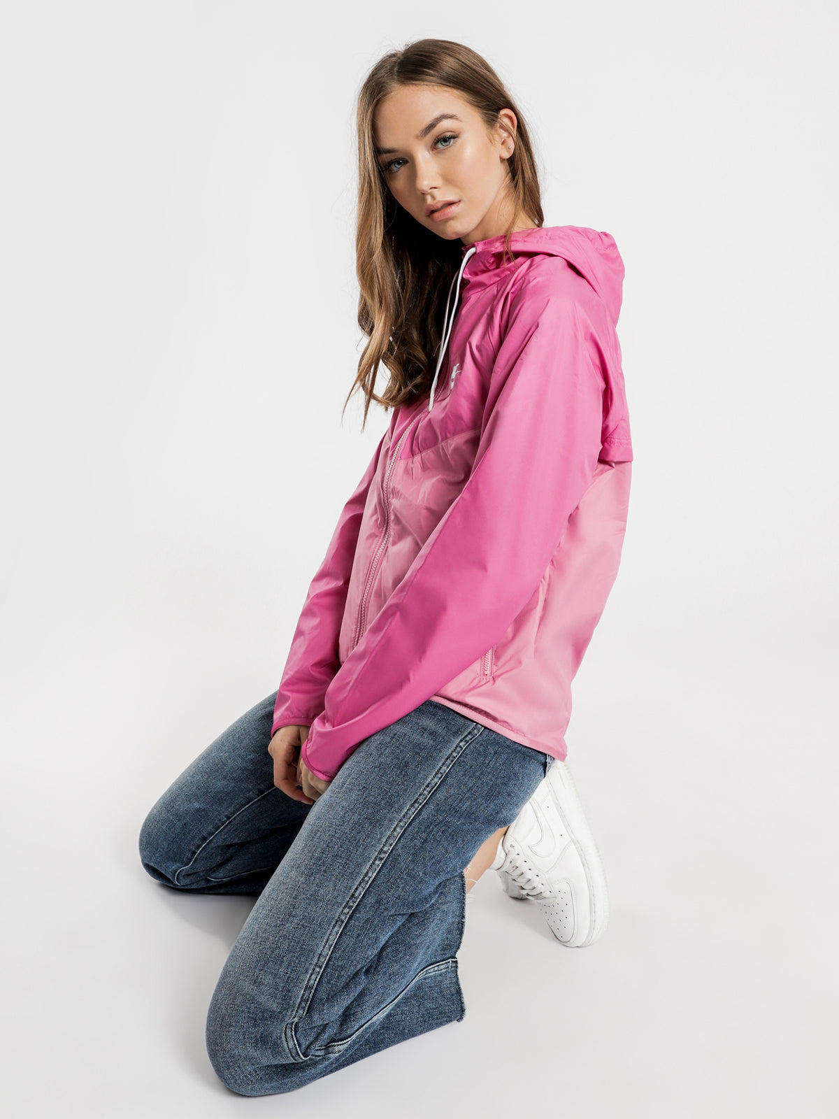 NSW Windrunner Jacket in Pink